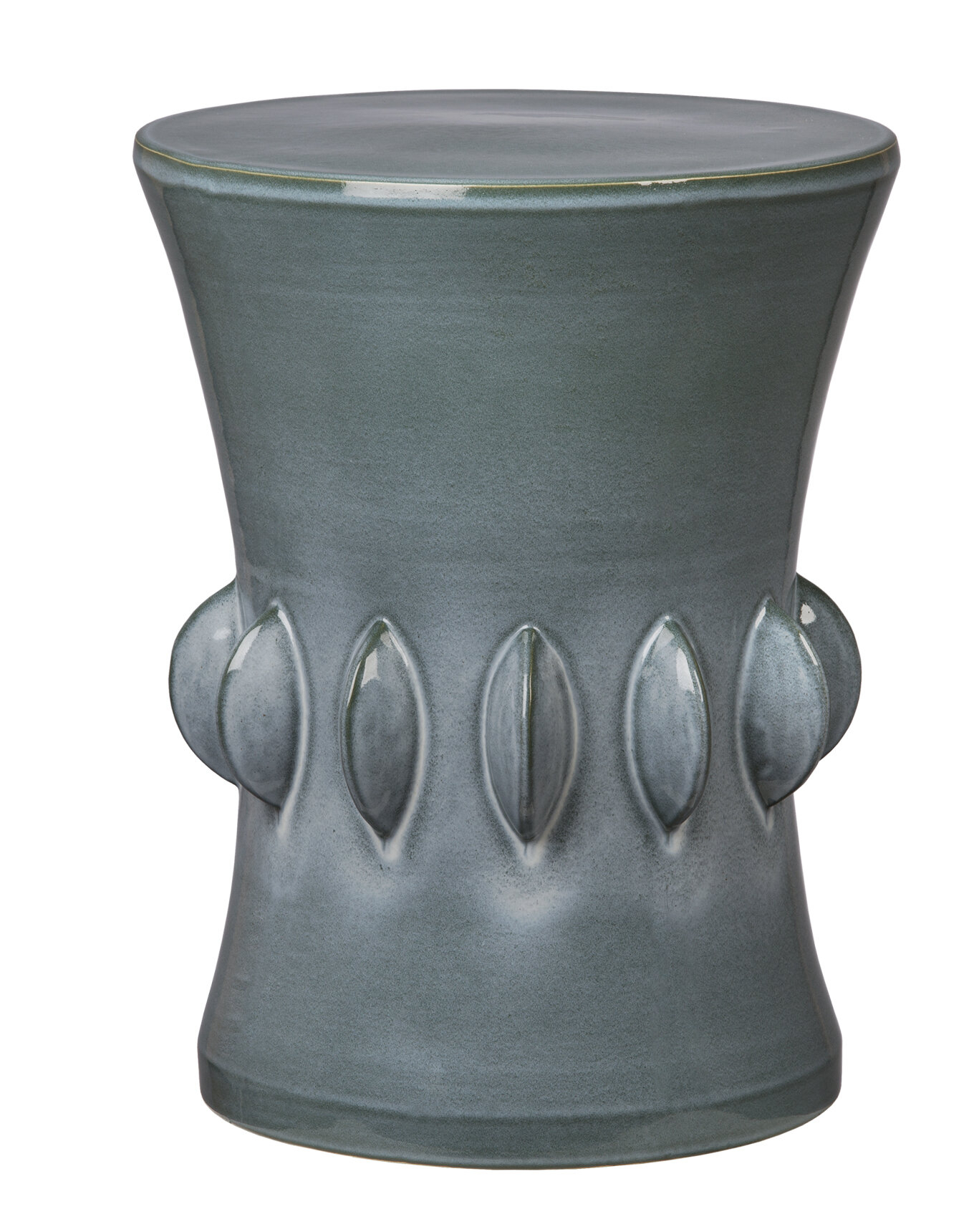 Moonya Ceramic Garden Stool Within Karlov Ceramic Garden Stools (View 23 of 25)