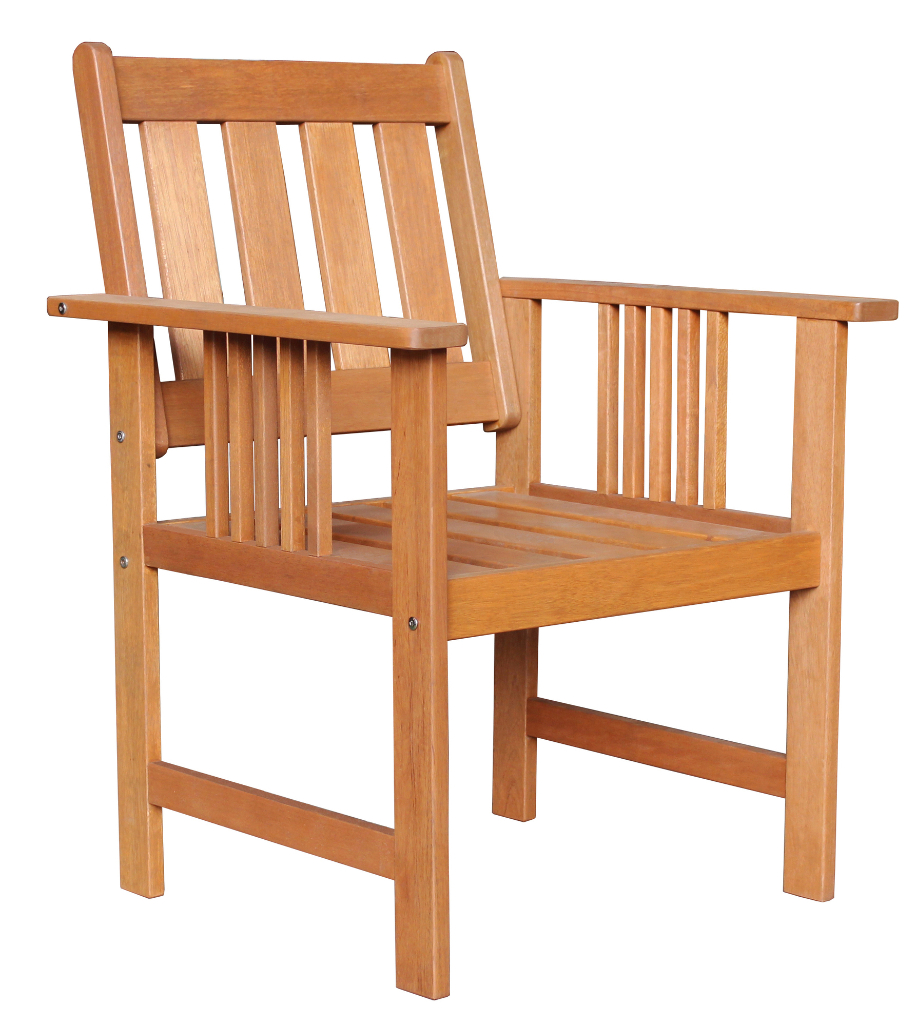 Natural Avoca Wood Outdoor Armchair Pertaining To Avoca Wood Garden Benches (View 5 of 25)