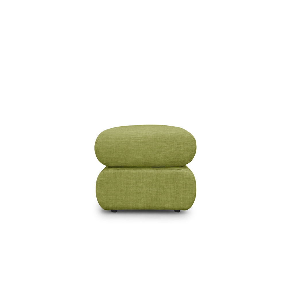 Neo Ottoman – Green With Sibbi Glider Benches (View 20 of 25)