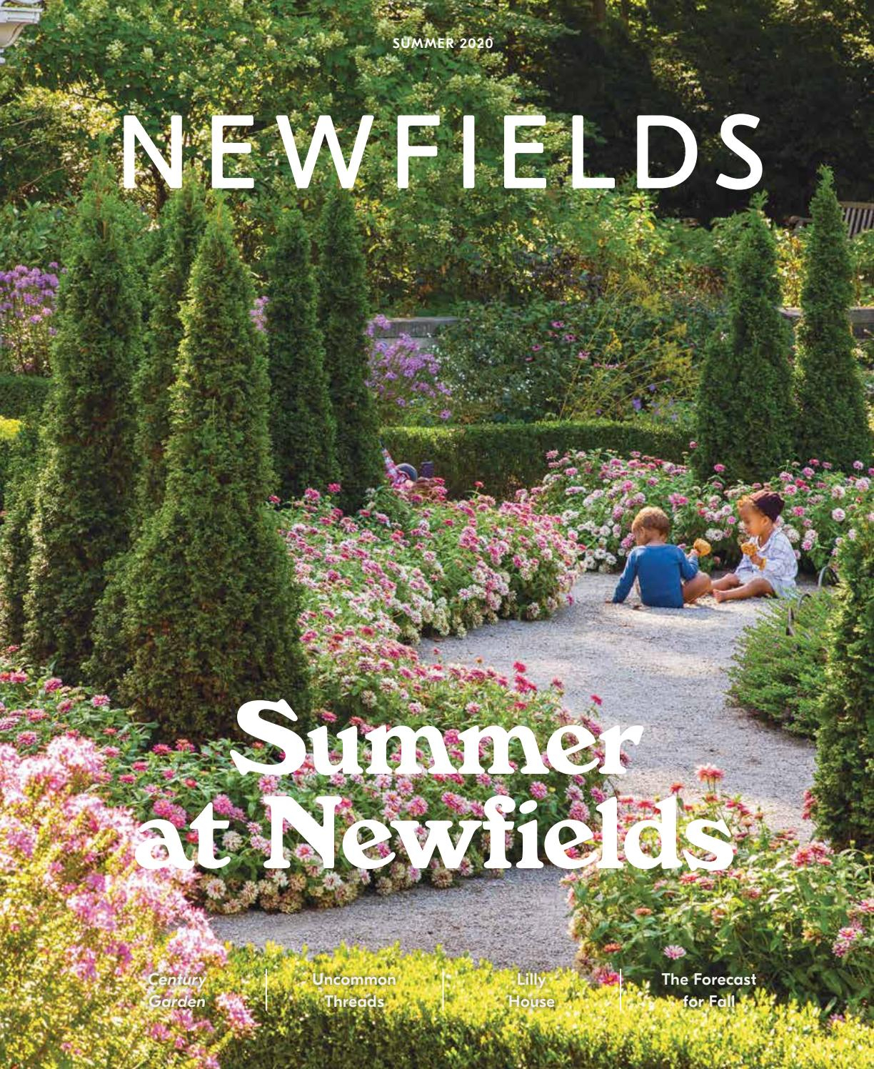 Newfields Magazine Summer 2020Newfields – Issuu Throughout Irwin Blossom Garden Stools (View 25 of 25)