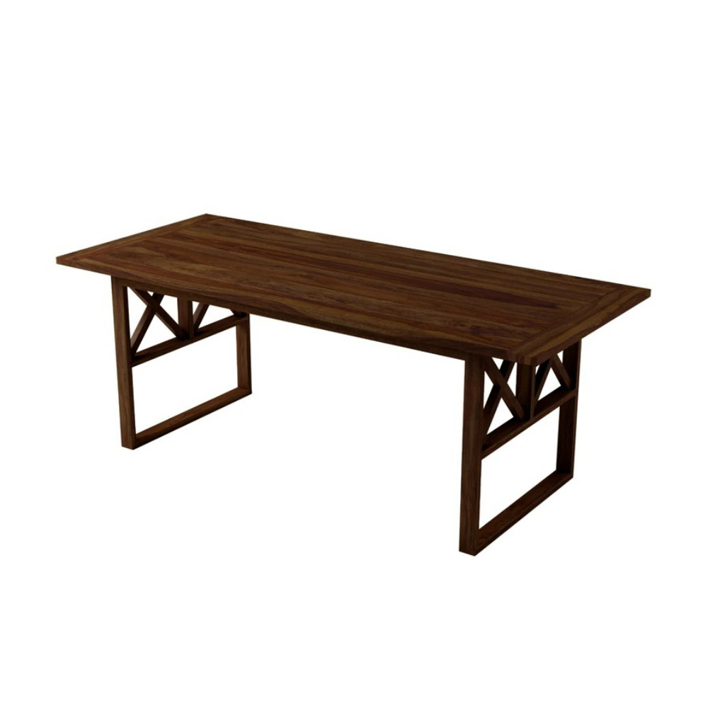 Nova Wooden Dining Table Throughout Cavin Garden Benches (View 25 of 25)