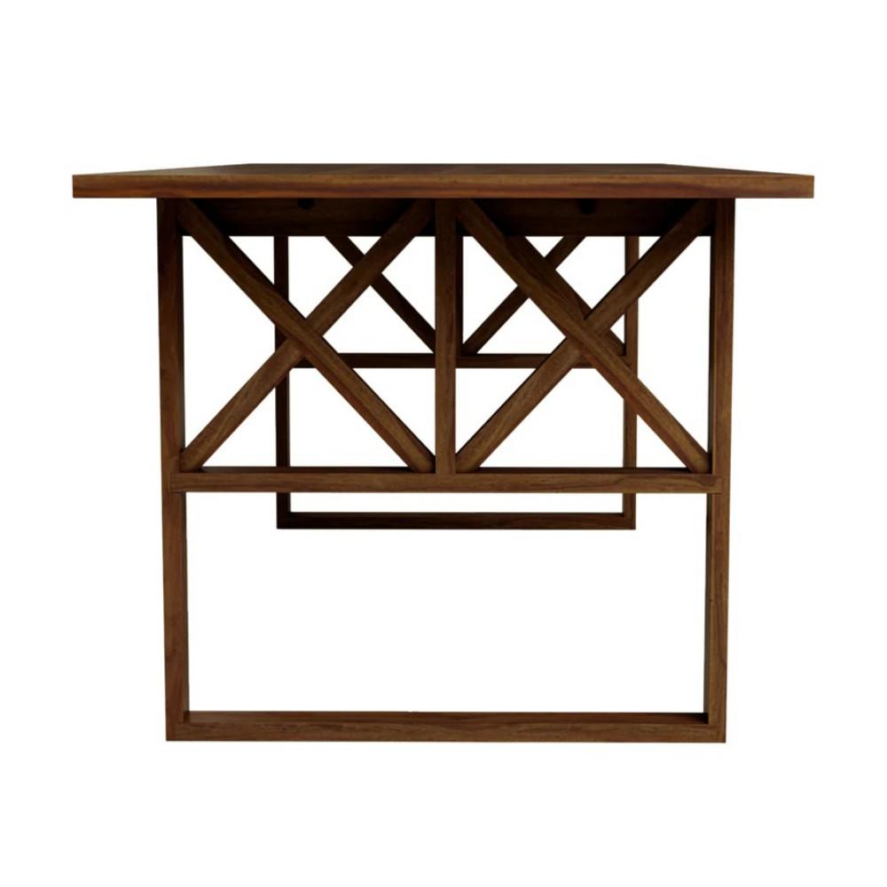 Nova Wooden Dining Table – Truwud Regarding Cavin Garden Benches (View 23 of 25)