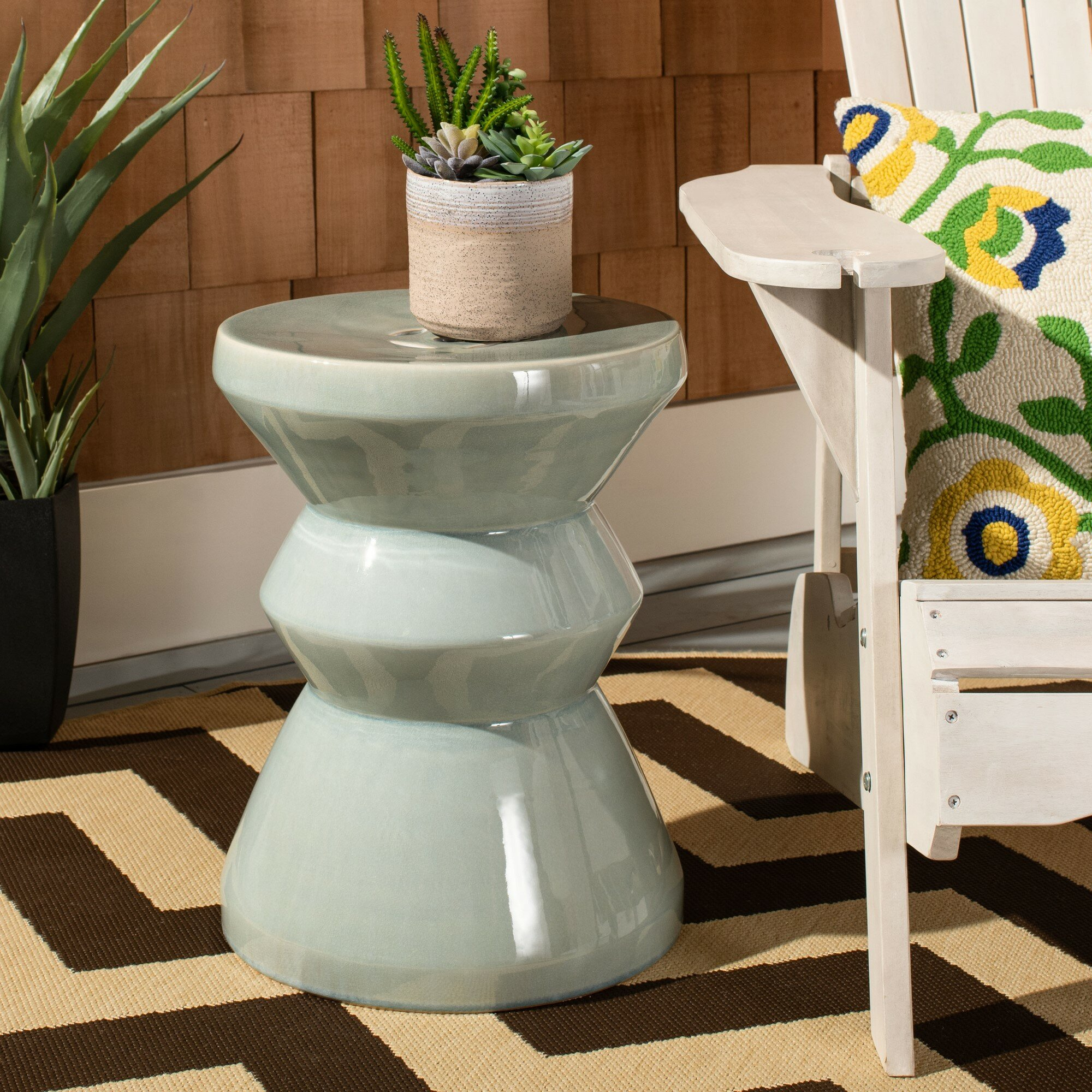 Featured Image of Oakside Ceramic Garden Stools