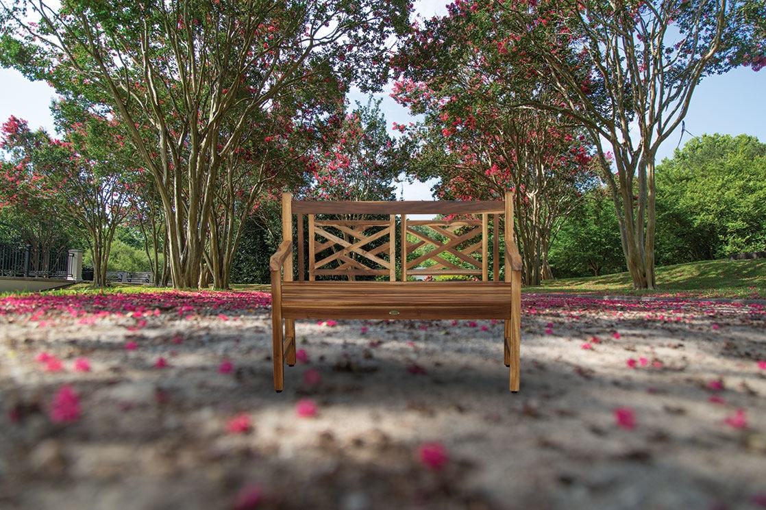 Outdoor Furniture – Benches – Garden Benches – E&T Horizons For Hampstead Heath Teak Garden Benches (View 13 of 25)