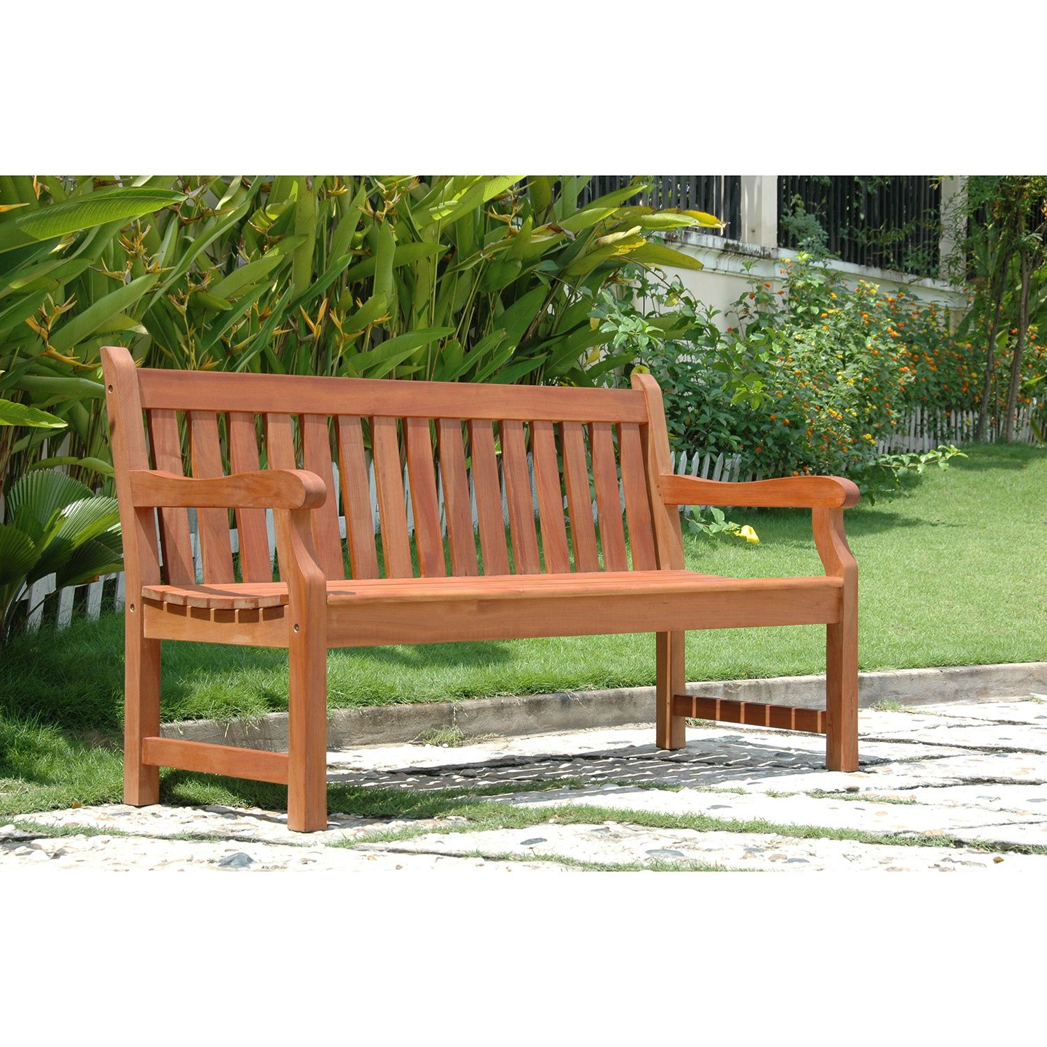 Overstock: Online Shopping – Bedding, Furniture Intended For Wallie Teak Garden Benches (View 14 of 25)