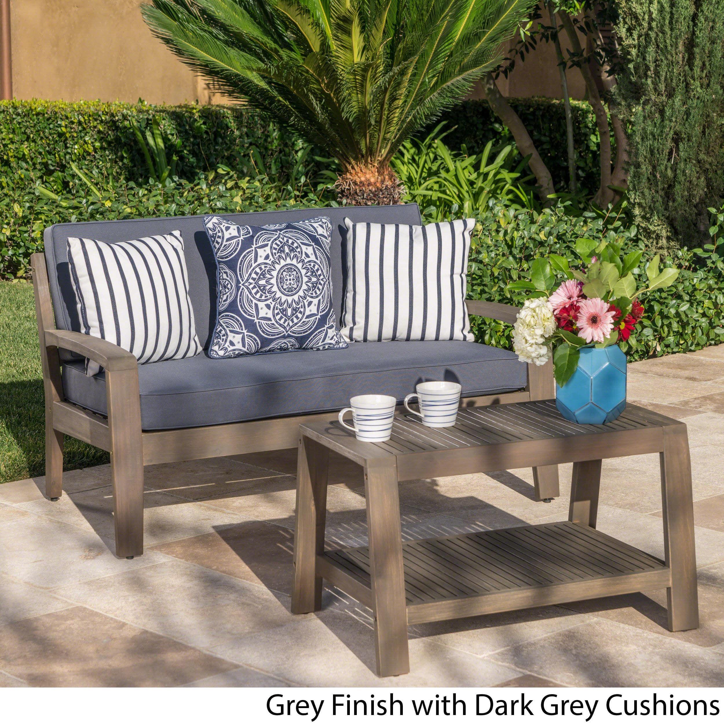Overstock: Online Shopping – Bedding, Furniture Within Skoog Chevron Wooden Garden Benches (View 21 of 25)