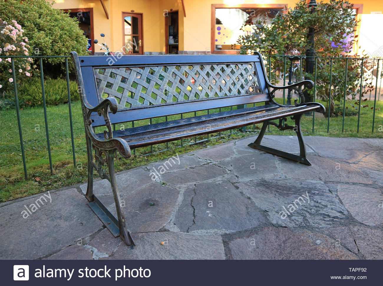 Page 2 – Public Garden Bench High Resolution Stock In Strasburg Blossoming Decorative Iron Garden Benches (View 11 of 25)