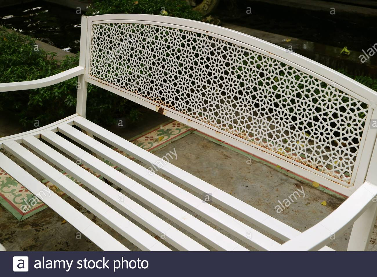 Page 2 – Public Garden Bench High Resolution Stock Pertaining To Strasburg Blossoming Decorative Iron Garden Benches (View 14 of 25)