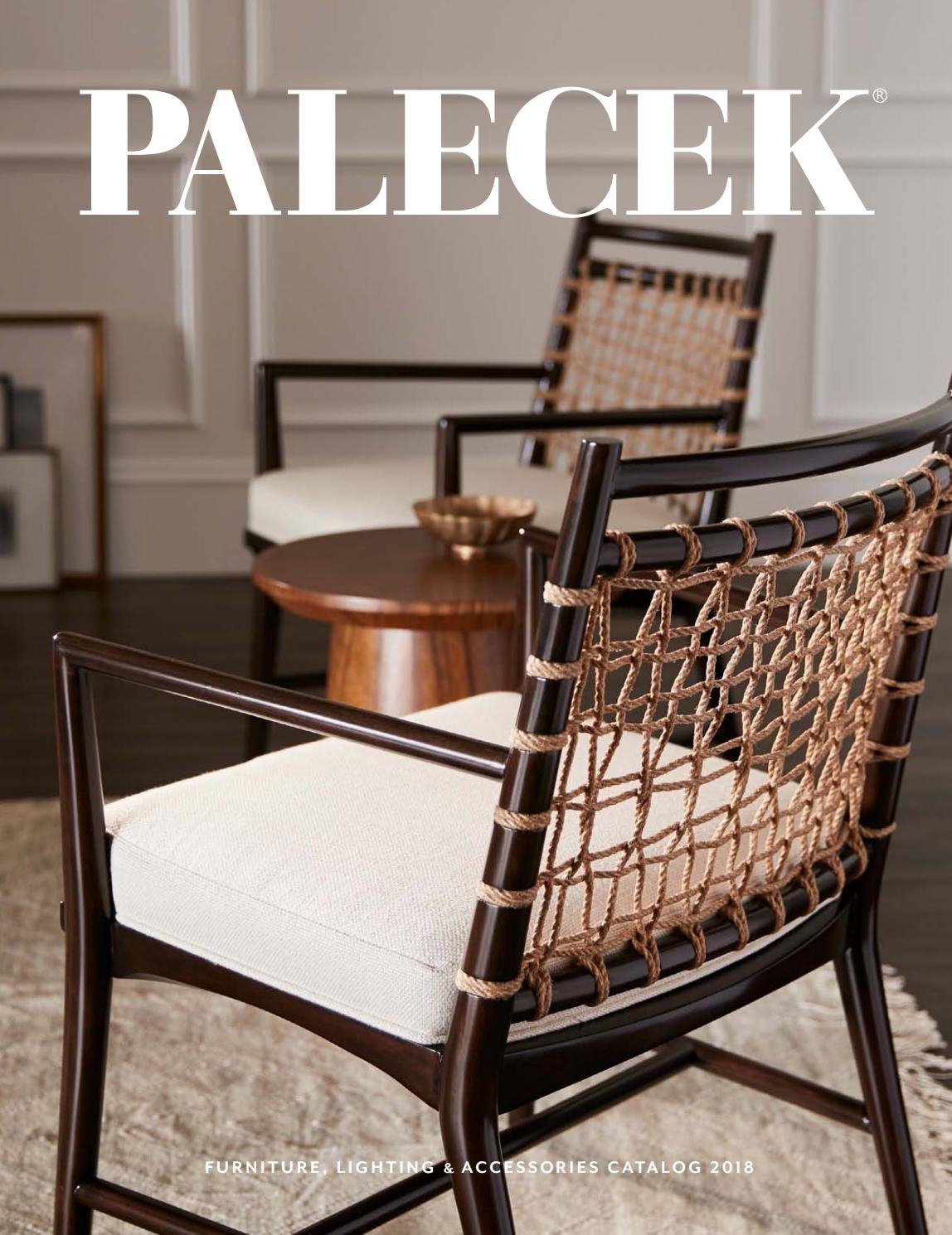 Palecek 2018 Furniture & Accessories Catalog With Madeline Vintage Bird Cast Iron Garden Benches (View 17 of 25)