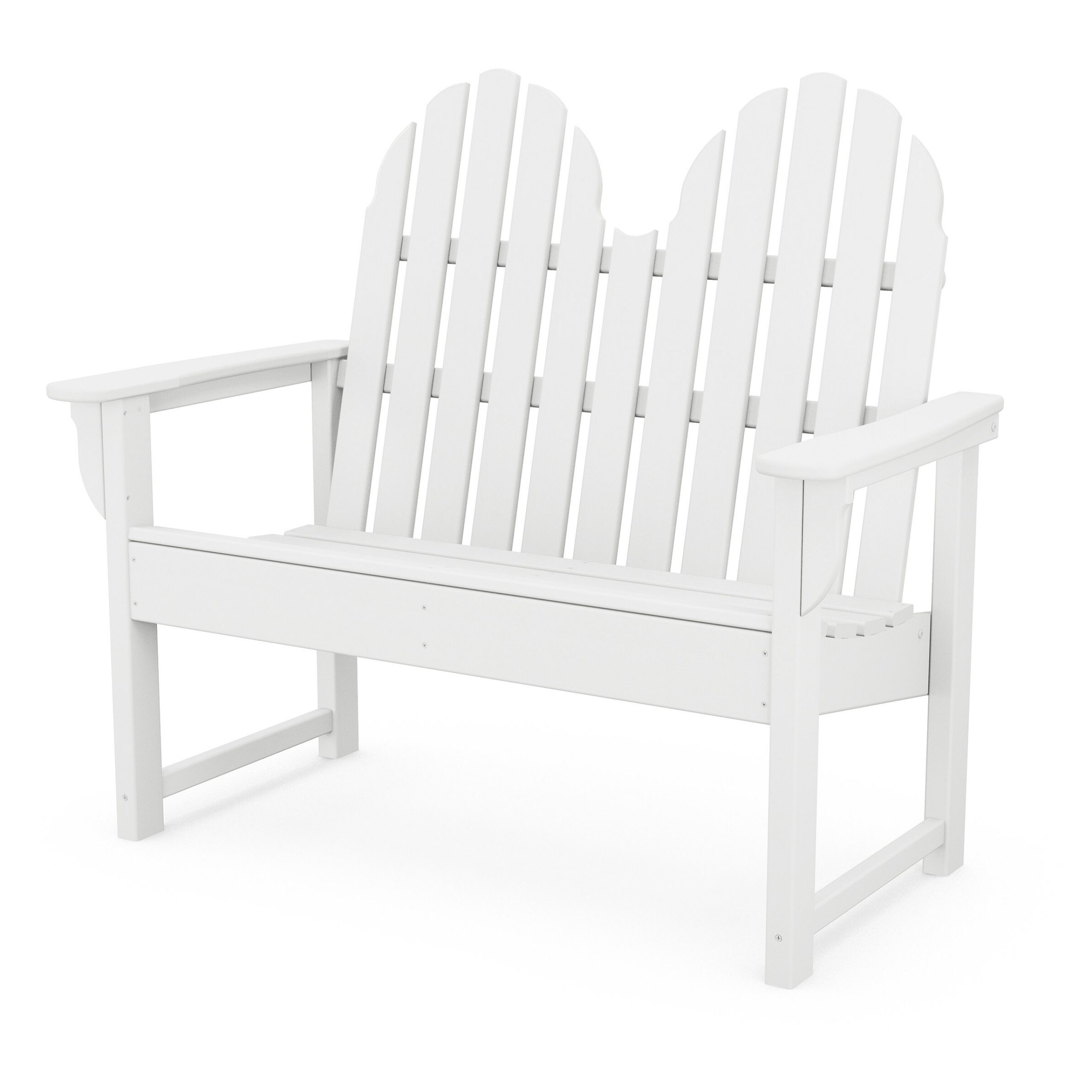 Park White Outdoor Benches You'Ll Love In 2020 | Wayfair With Heslin Steel Park Benches (View 12 of 25)