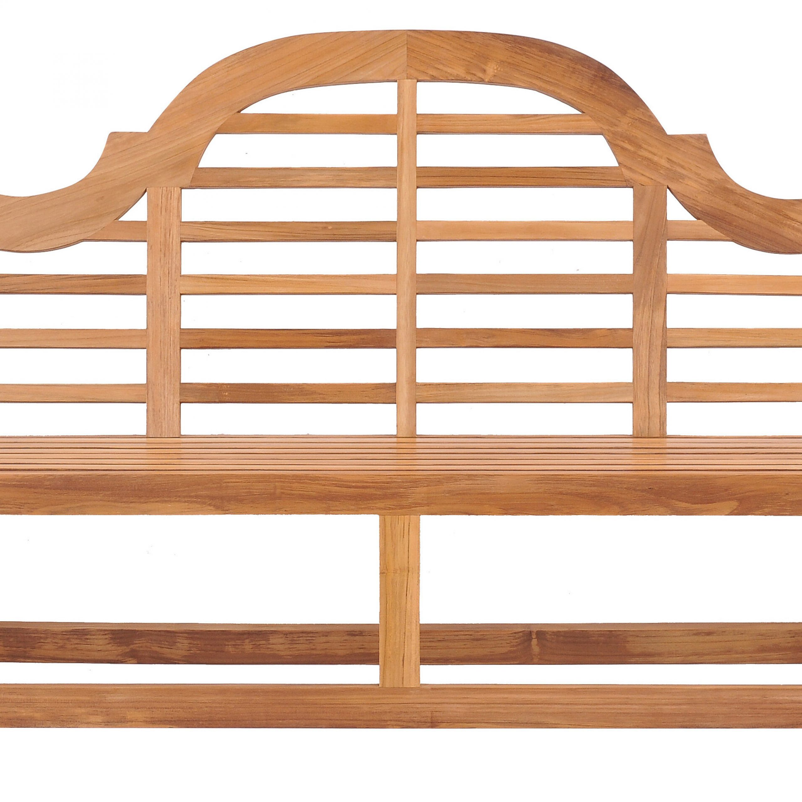 Passarelli Teak Garden Bench With Regard To Wallie Teak Garden Benches (View 15 of 25)