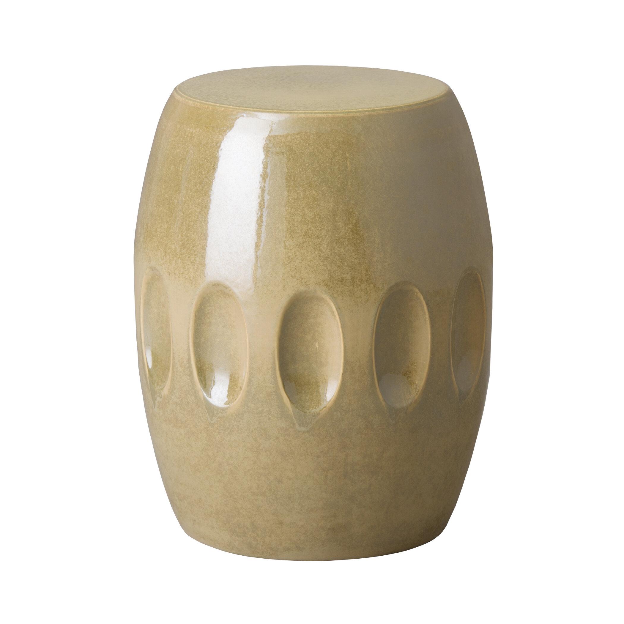 Pestre Garden Stool Intended For Oakside Ceramic Garden Stools (View 12 of 25)