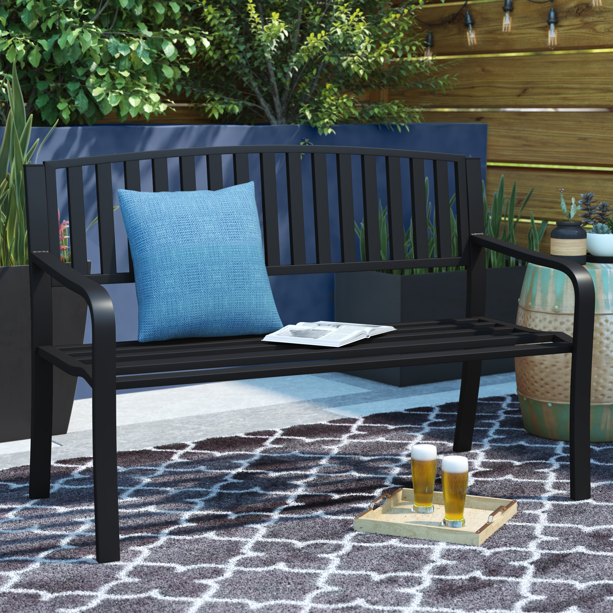 Featured Image of Pettit Steel Garden Benches