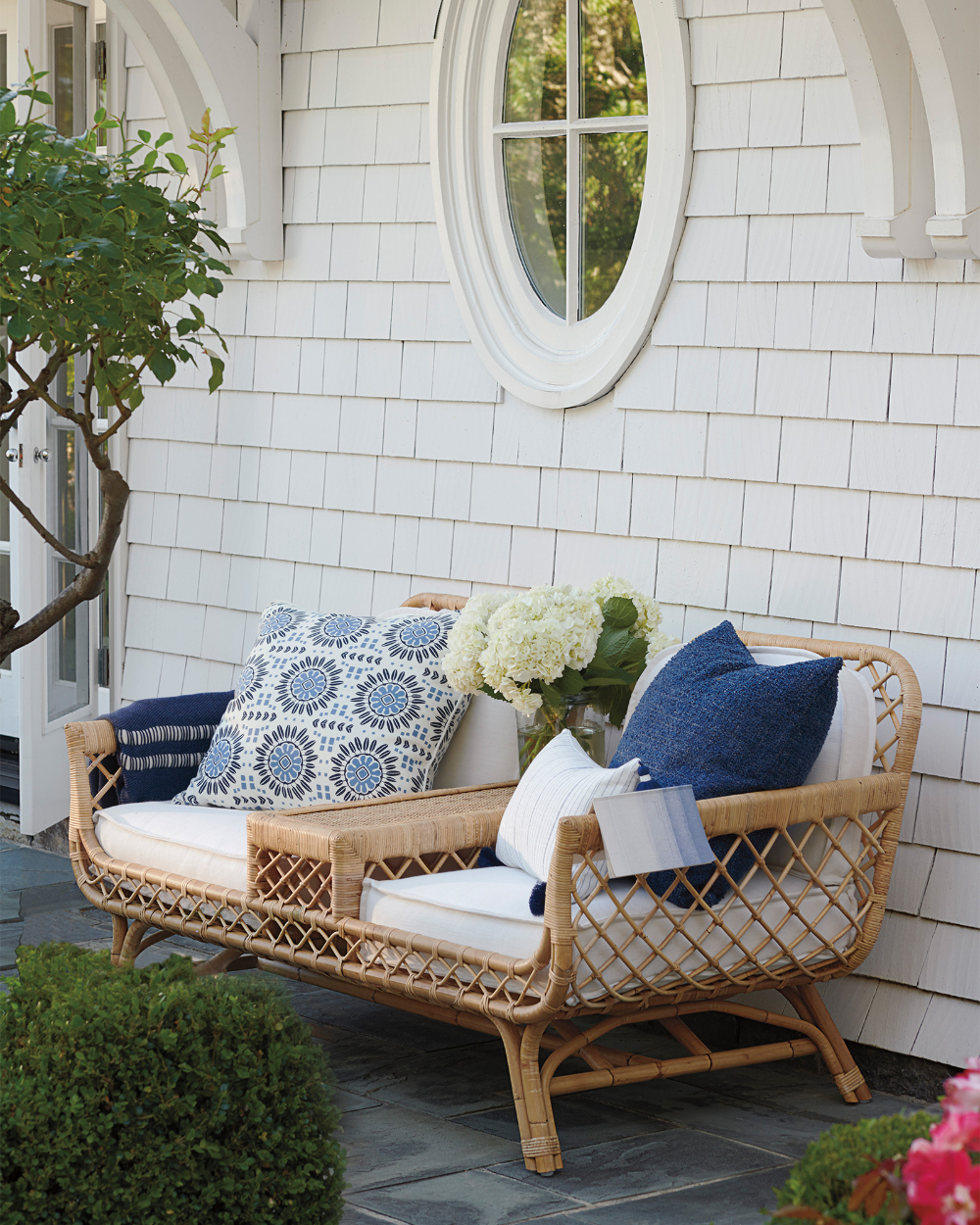 Pin On Cane Furniture With Wicker Tete A Tete Benches (View 24 of 25)
