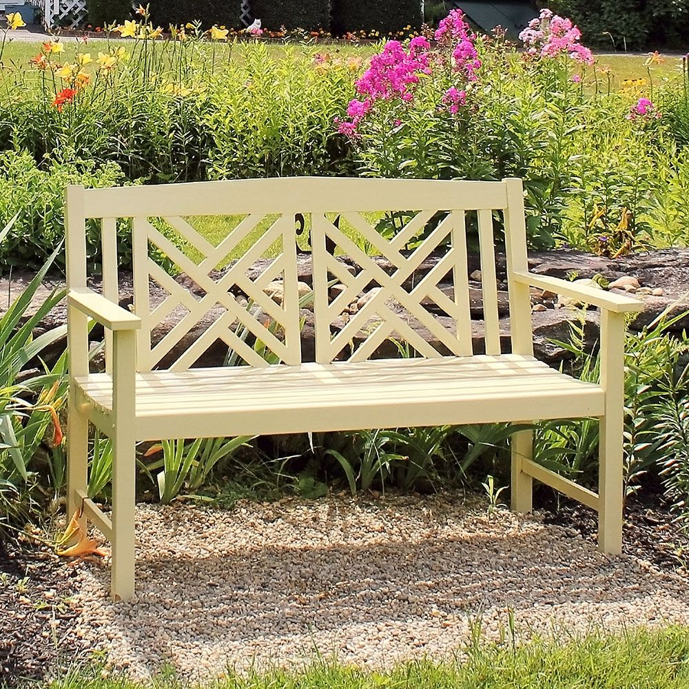 Pin On Outdoor Decor Ideas With Shelbie Wooden Garden Benches (View 14 of 25)