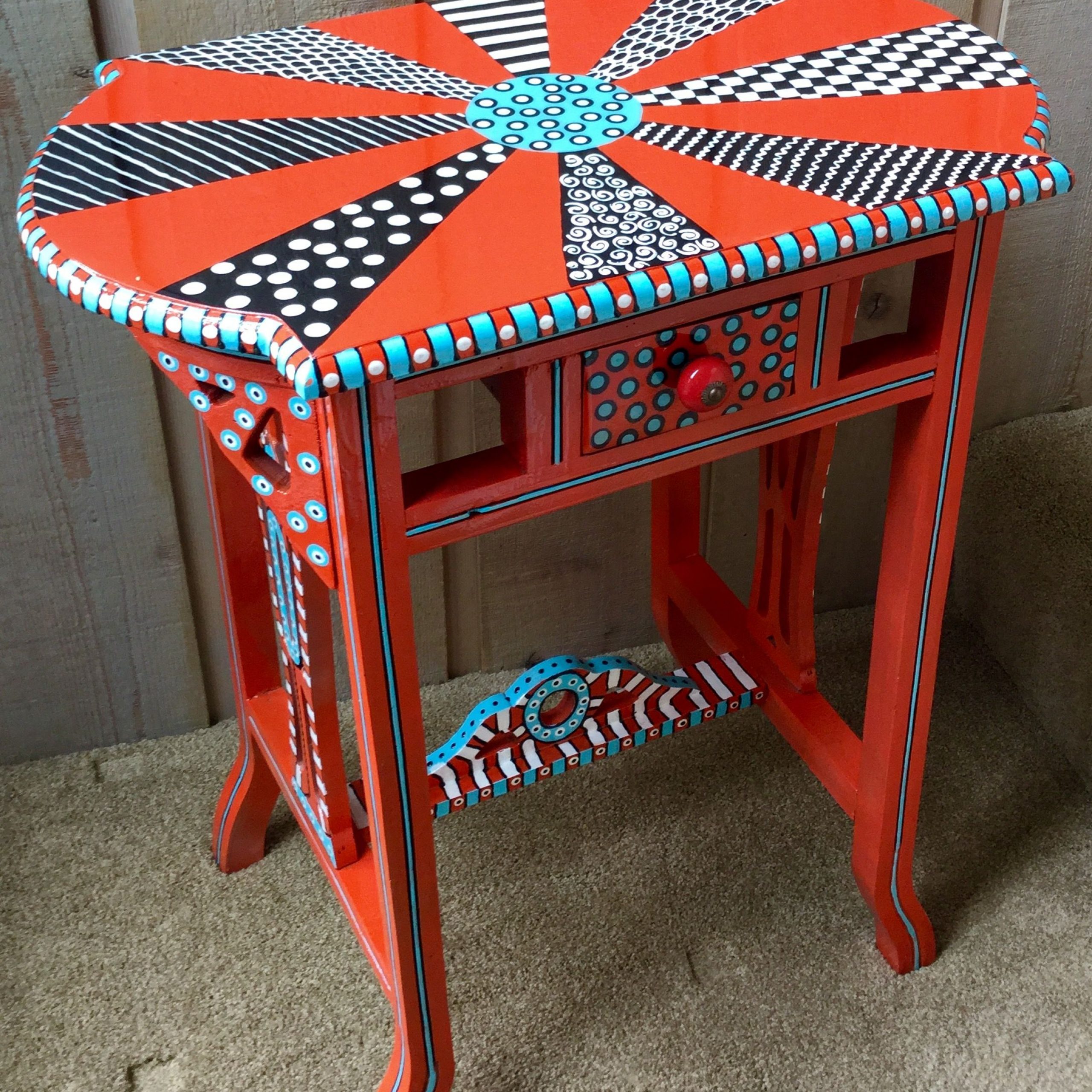 Pinkaren Swanson On Painted Furniture | Painted Inside Swanson Ceramic Garden Stools (View 22 of 25)