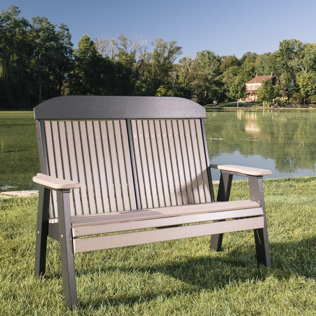 Poly Lawn Furniture Seating – Pittsburgh Swing Sets And Intended For Heslin Steel Park Benches (View 22 of 25)