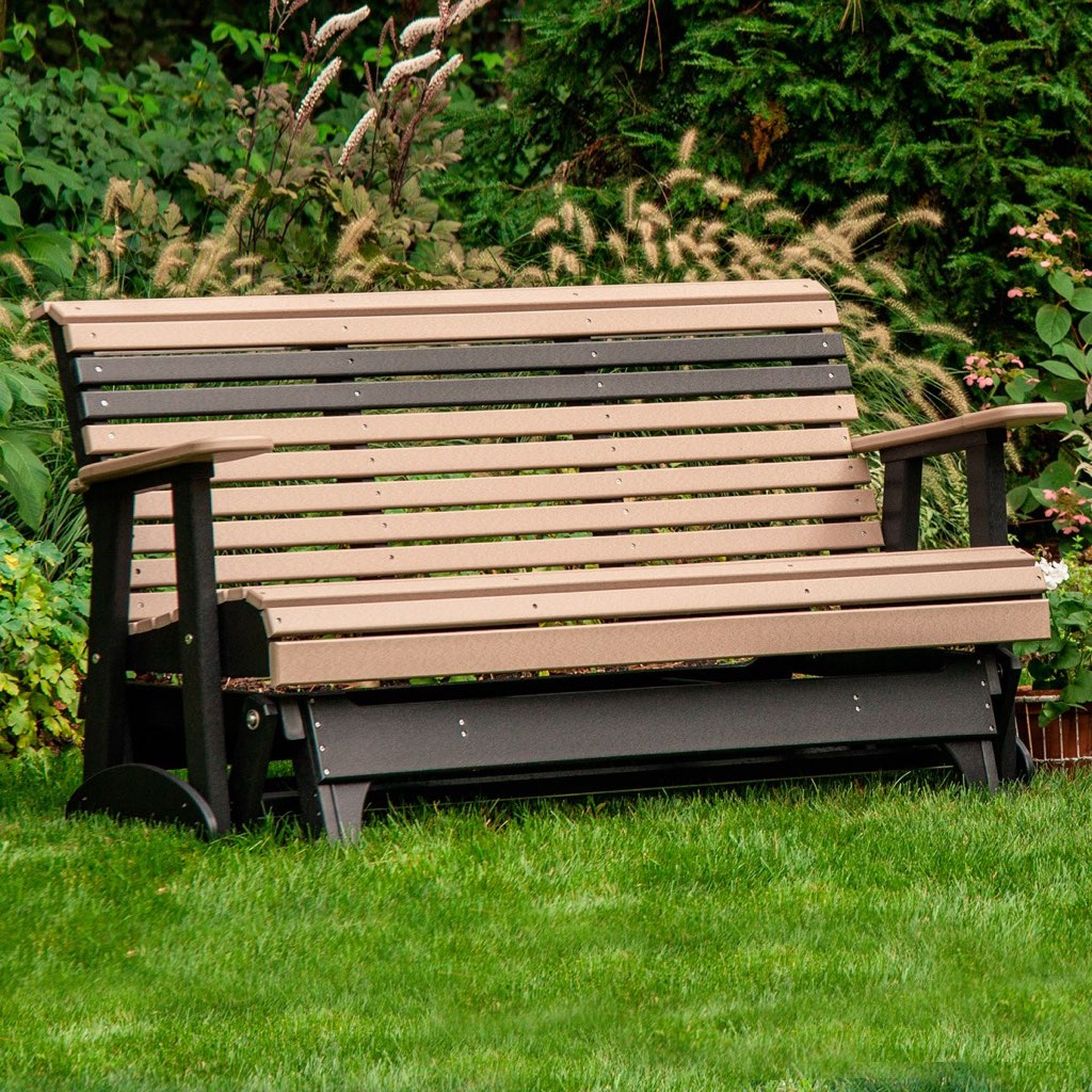 Poly Lawn Furniture Seating – Pittsburgh Swing Sets And Within Heslin Steel Park Benches (View 24 of 25)