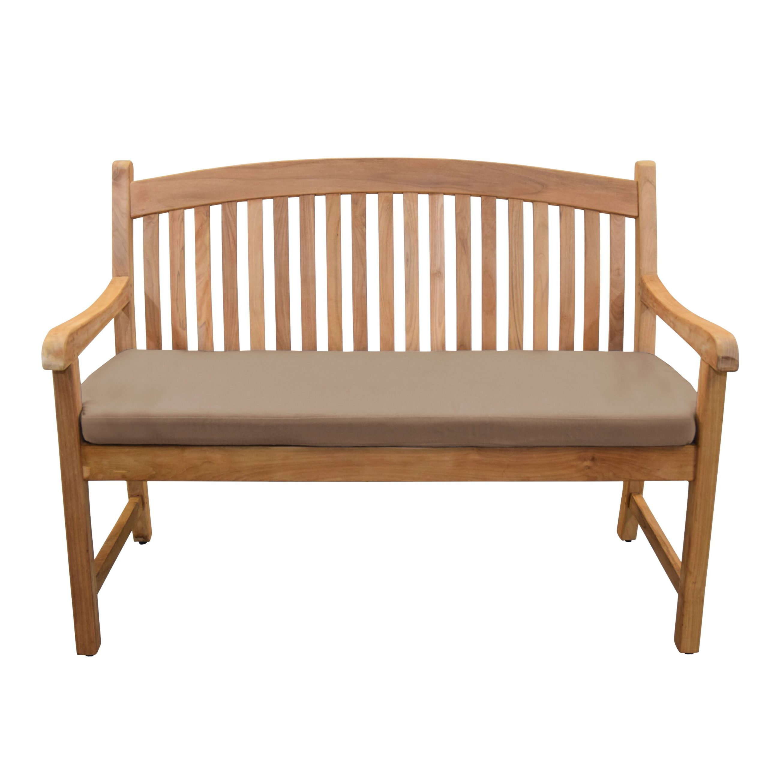 Pulver Teak Garden Bench Regarding Wallie Teak Garden Benches (View 5 of 25)