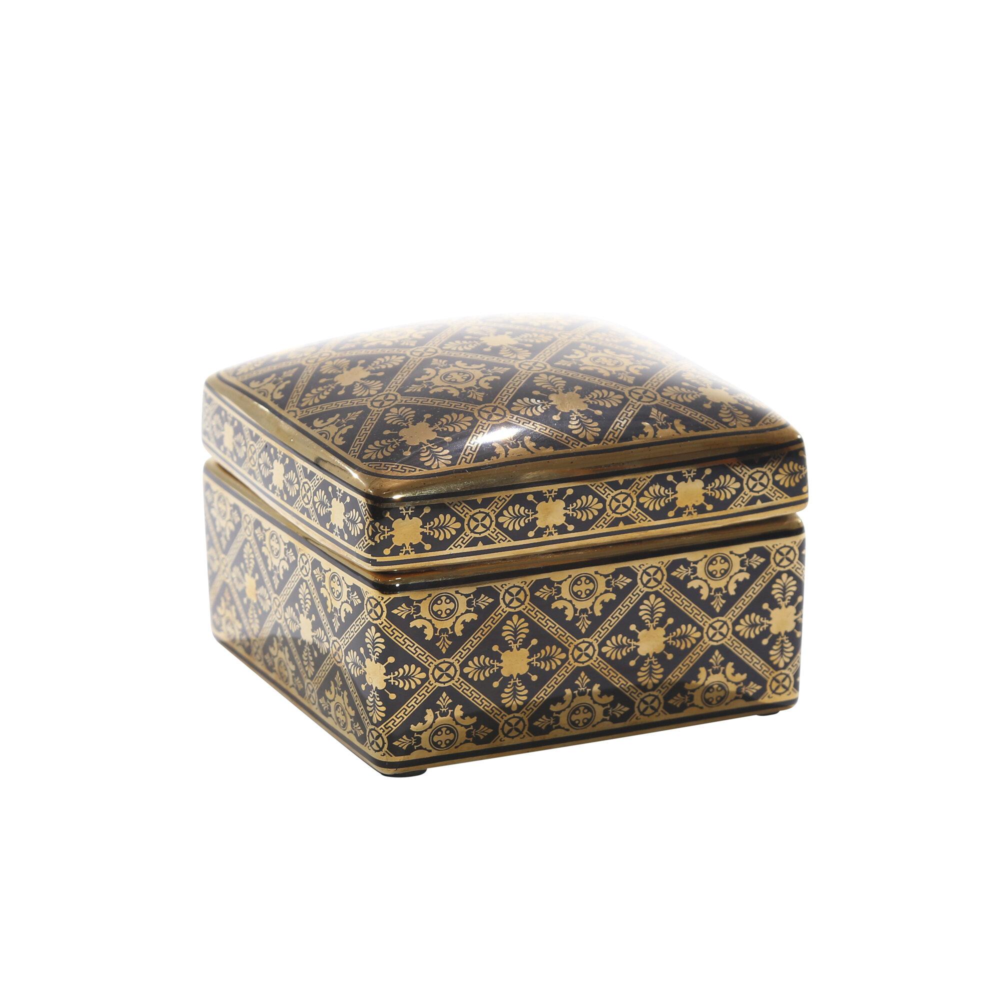 Rapier Ceramic Covered Jar With Tillia Ceramic Garden Stools (View 20 of 25)