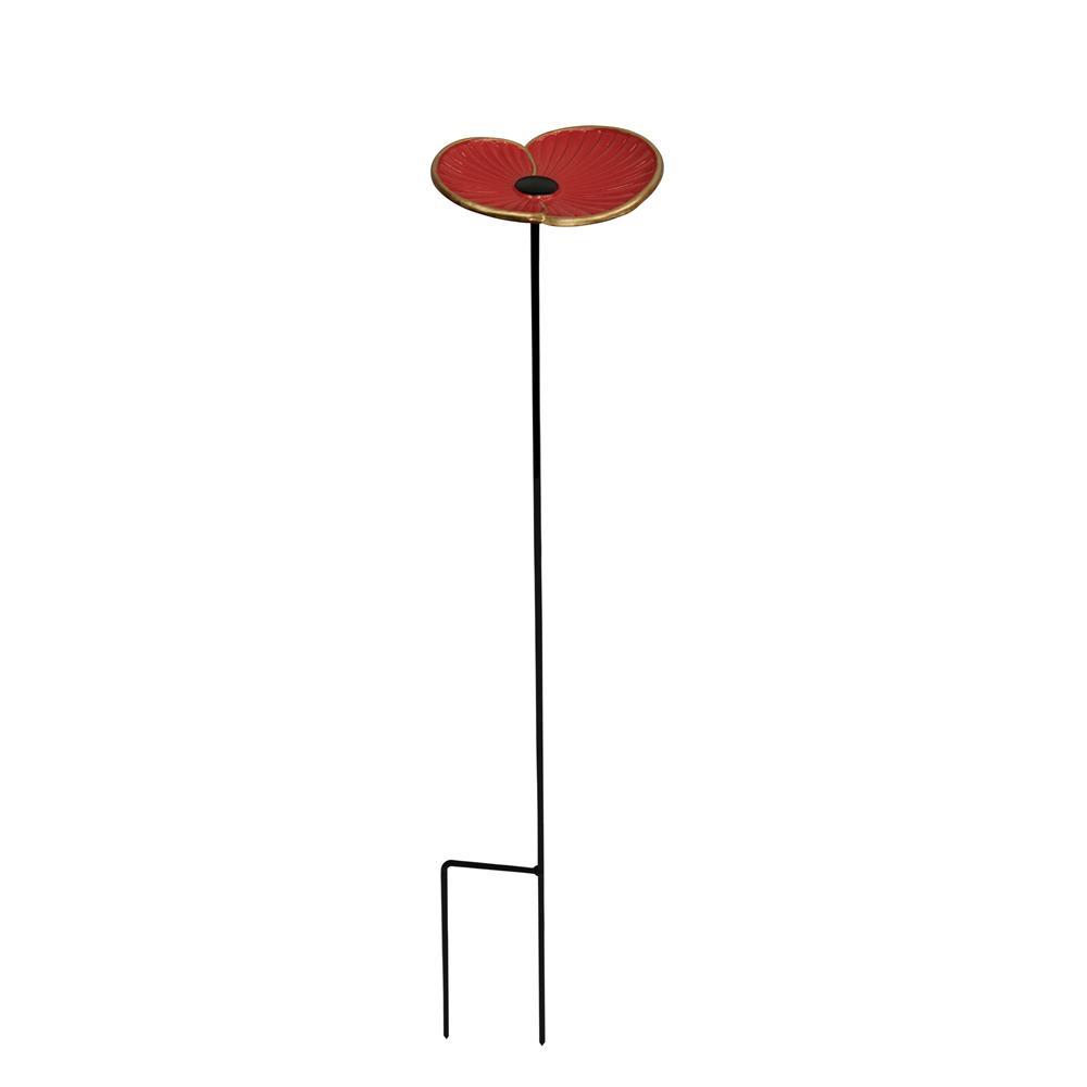 Rbl – Cast Iron Poppy Feeder – Wild Bird Feeders – Polhill In Wilde Poppies Ceramic Garden Stools (View 24 of 25)