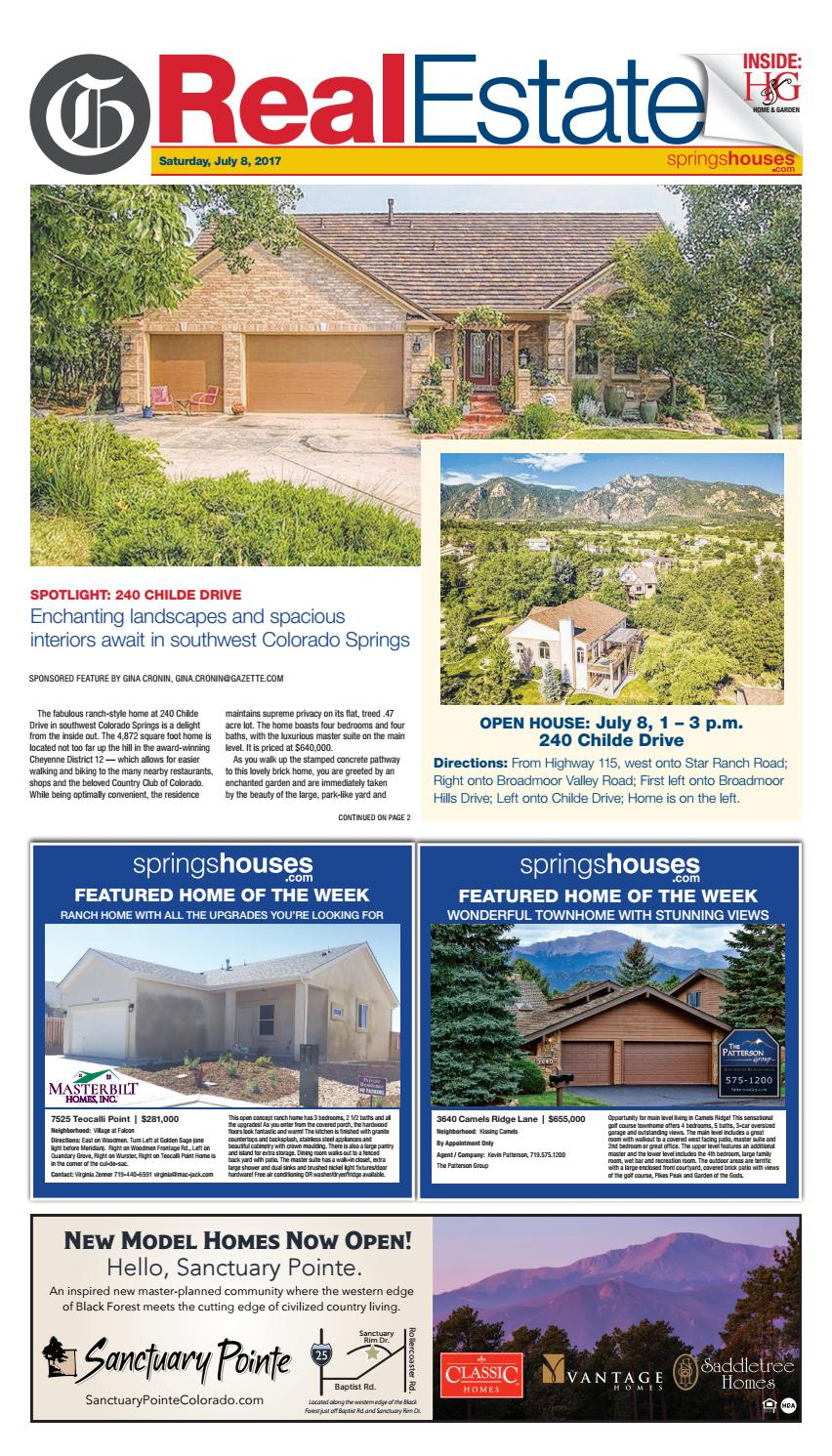 Real Estate 07/08/17Colorado Springs Gazette, Llc – Issuu With Wurster Ceramic Drip Garden Stools (View 25 of 25)