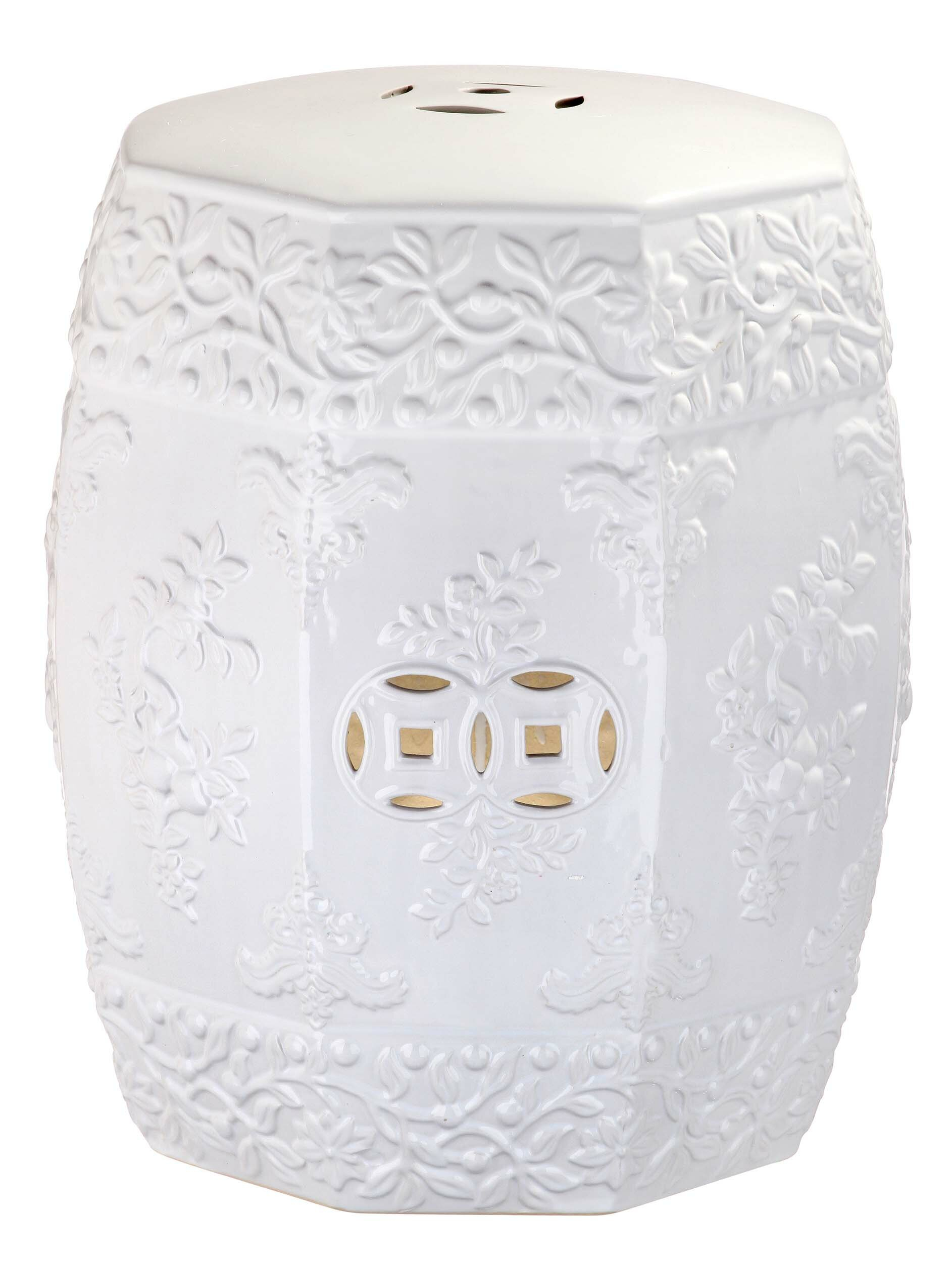 Renn Ceramic Garden Stool With Regard To Fifi Ceramic Garden Stools (View 4 of 25)
