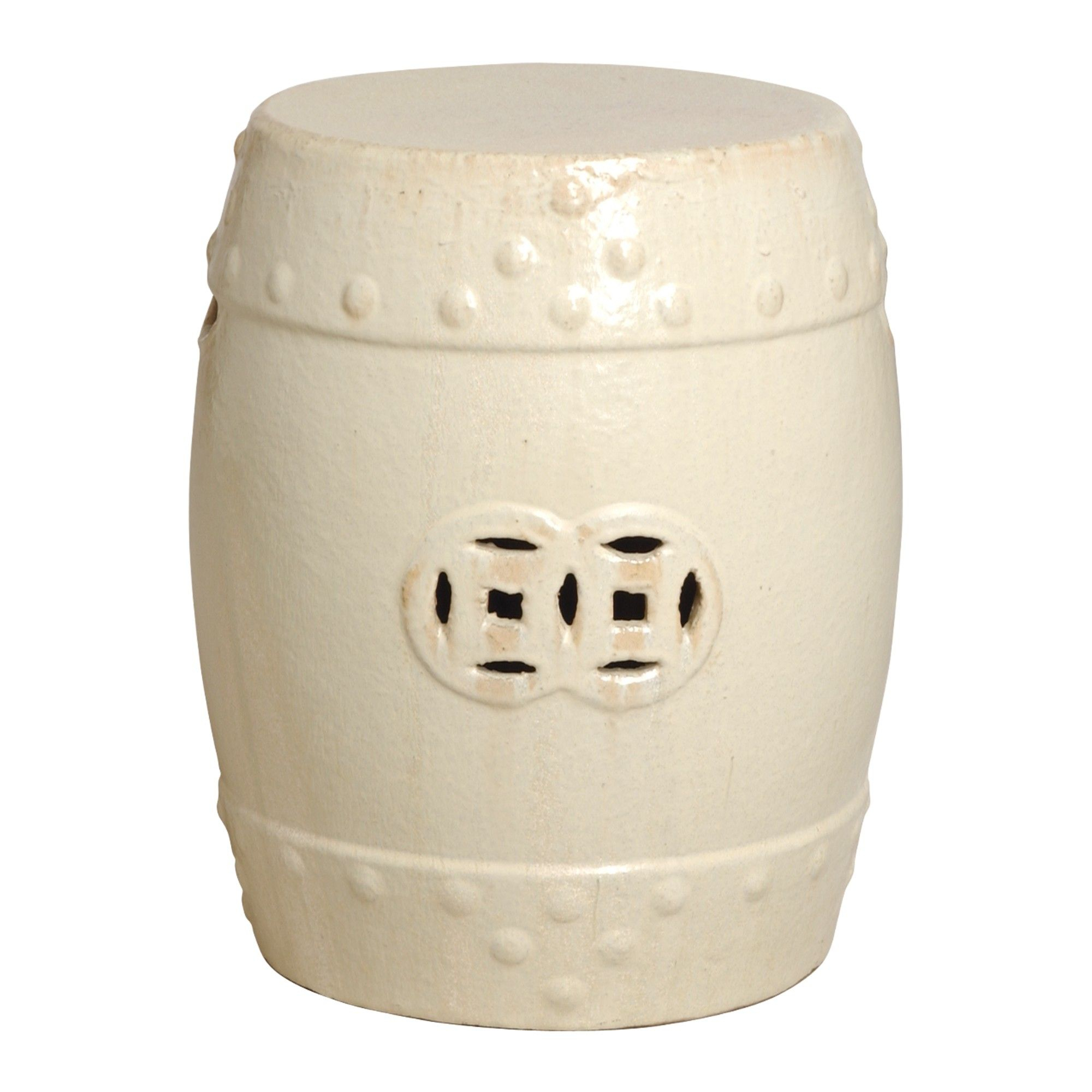 Round Garden Stool Emissary 0953Cg 18X13Diam Drink Table For Holbrook Ceramic Garden Stools (View 11 of 25)