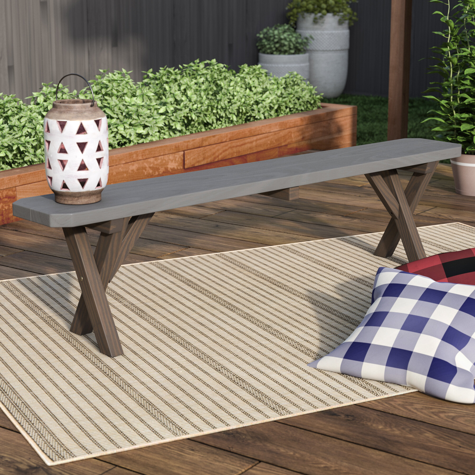 Rutherford Wooden Arbour Bench Regarding Lucille Timberland Wooden Garden Benches (View 10 of 25)