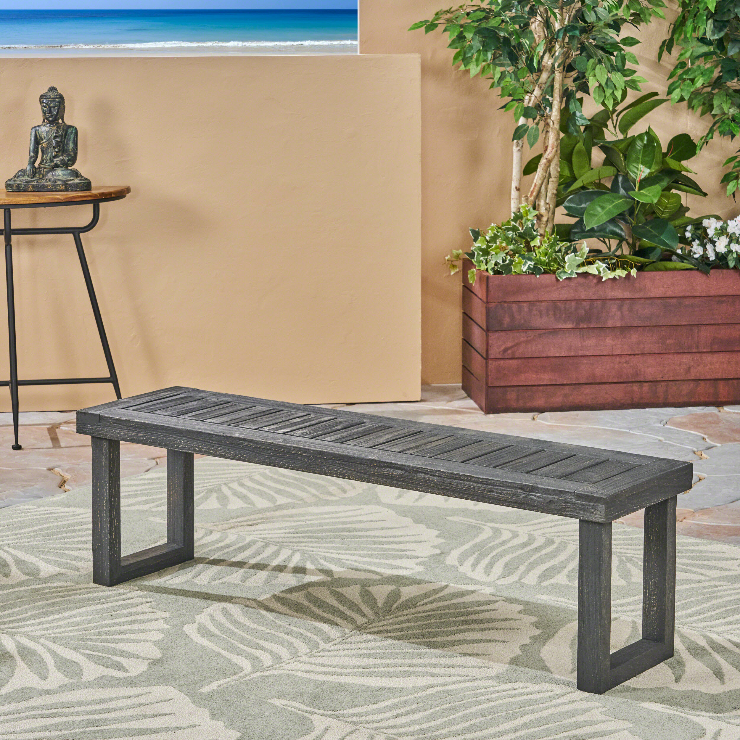 Rutherford Wooden Arbour Bench Within Lucille Timberland Wooden Garden Benches (View 11 of 25)