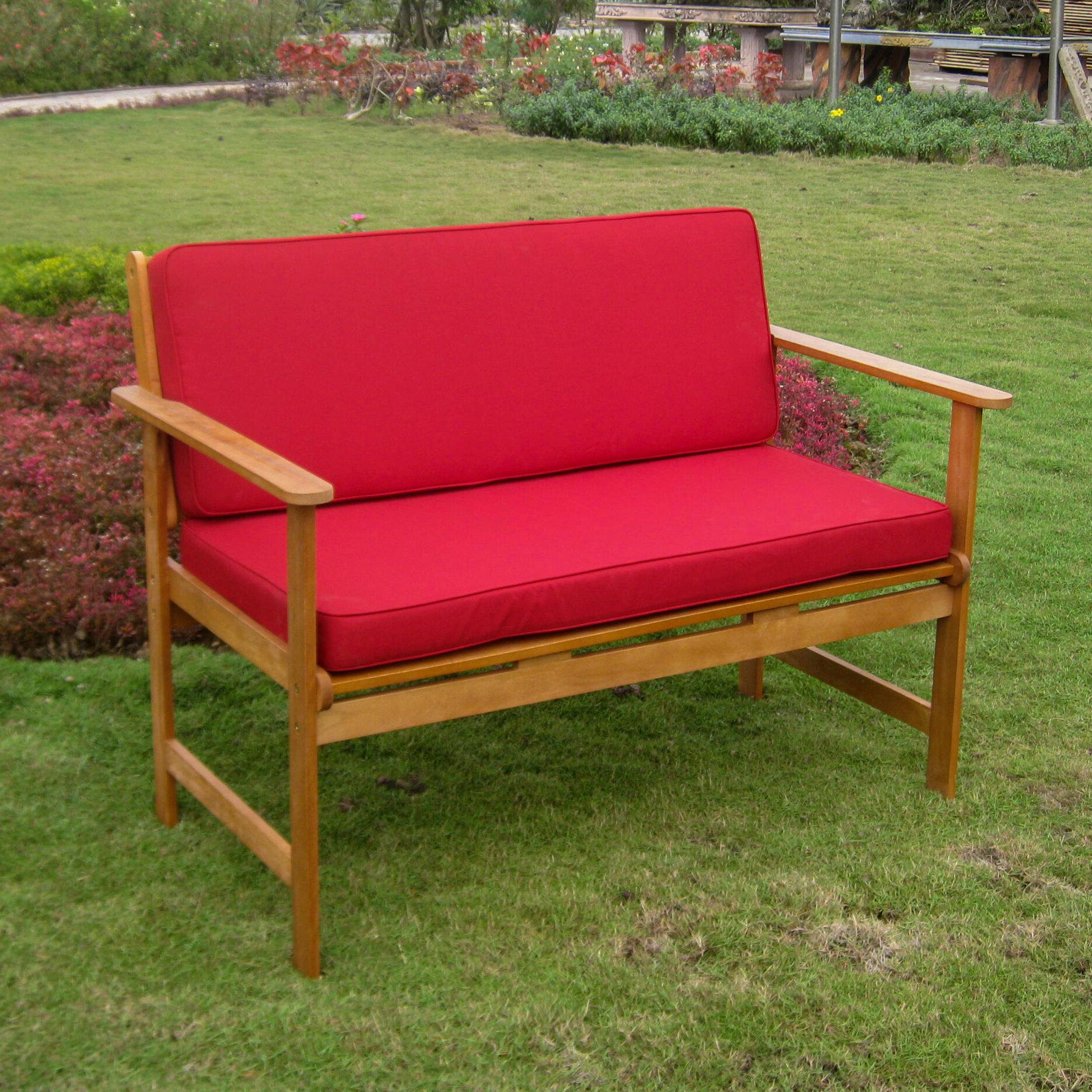 Sabbattus Wooden Garden Bench With Regard To Avoca Wood Garden Benches (View 14 of 25)