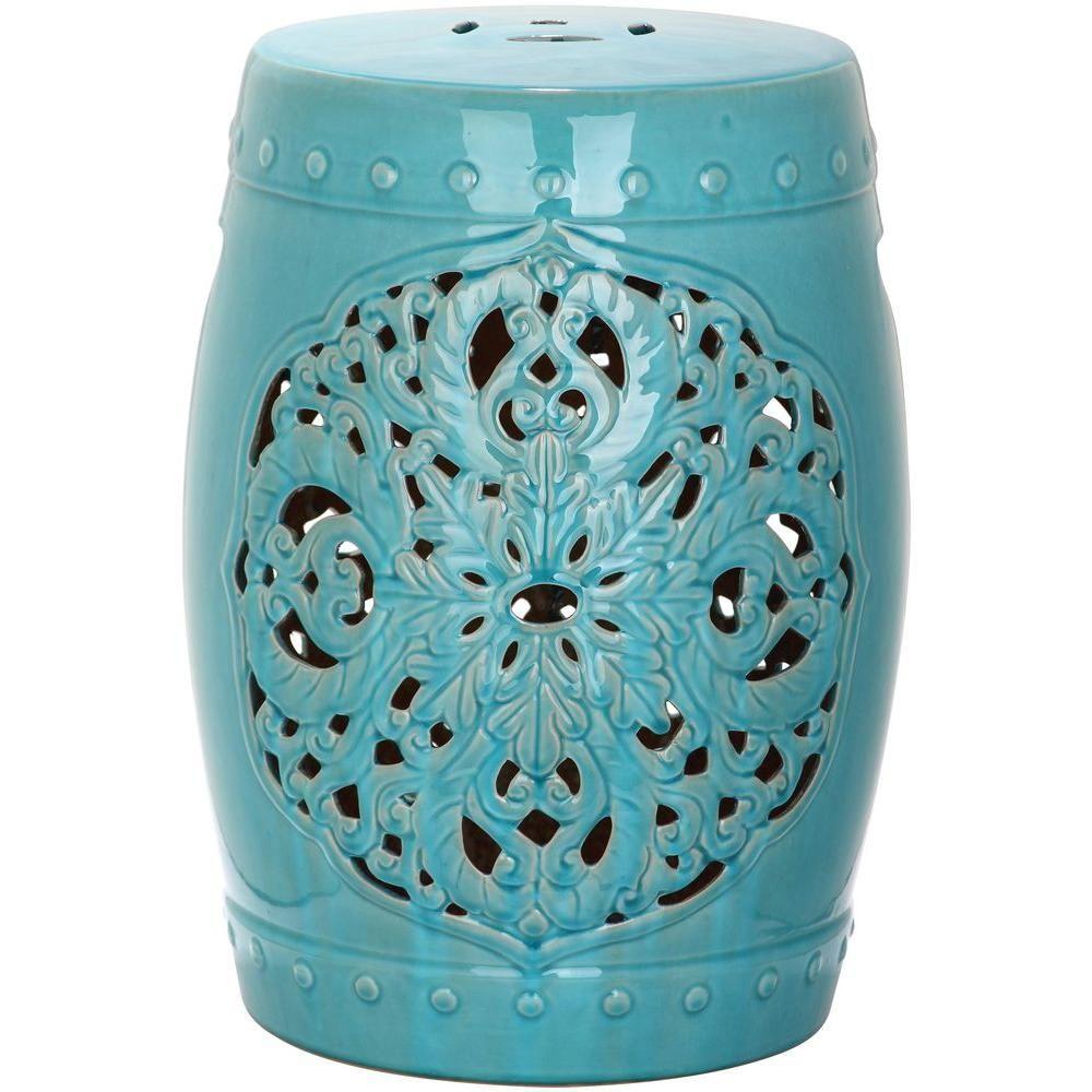 Safavieh Flora Creme Ceramic Garden Stool Acs4527B – The In Lavin Ceramic Garden Stools (View 13 of 25)