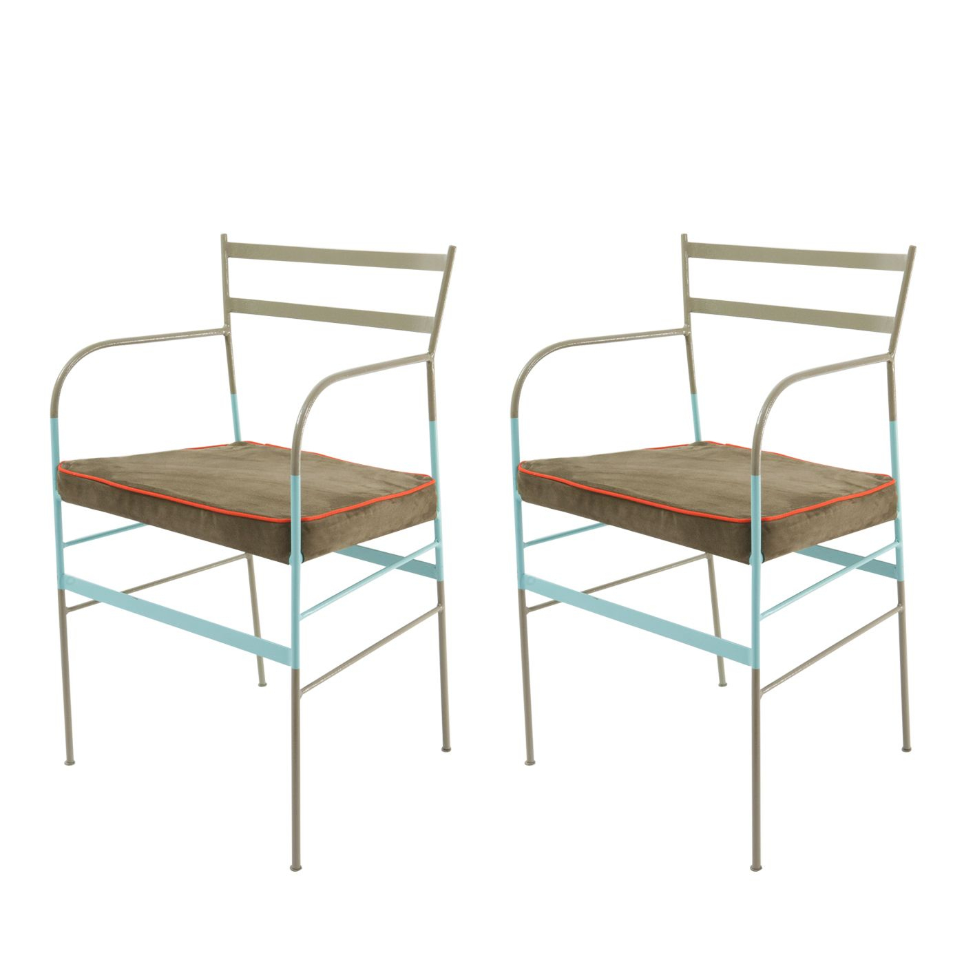 Set Of 2 Paul Asti Chairs In 2020 | Timeless Furniture Pertaining To Messina Garden Stools Set (Set Of 2) (View 23 of 25)