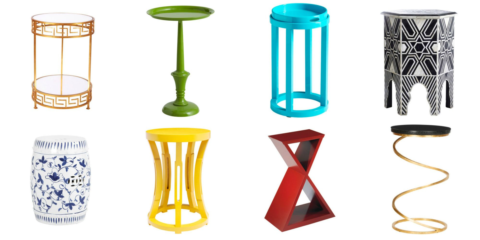 Small Accent Tables – Side Table Designs Intended For Swanson Ceramic Garden Stools (View 21 of 25)