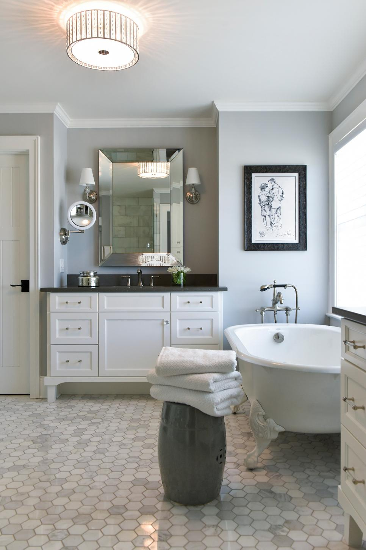 Split Vanities Add Function In Master Bathroom Space | Hgtv In Engelhardt Ceramic Garden Stools (View 25 of 25)