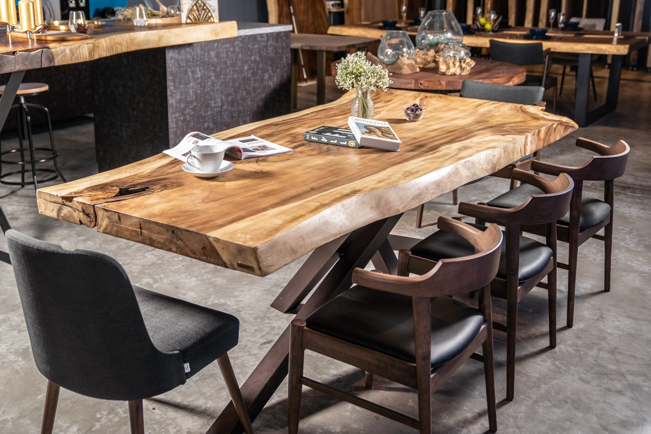 Suar Wood Dining Table Throughout Ahana Wooden Garden Benches (View 20 of 25)