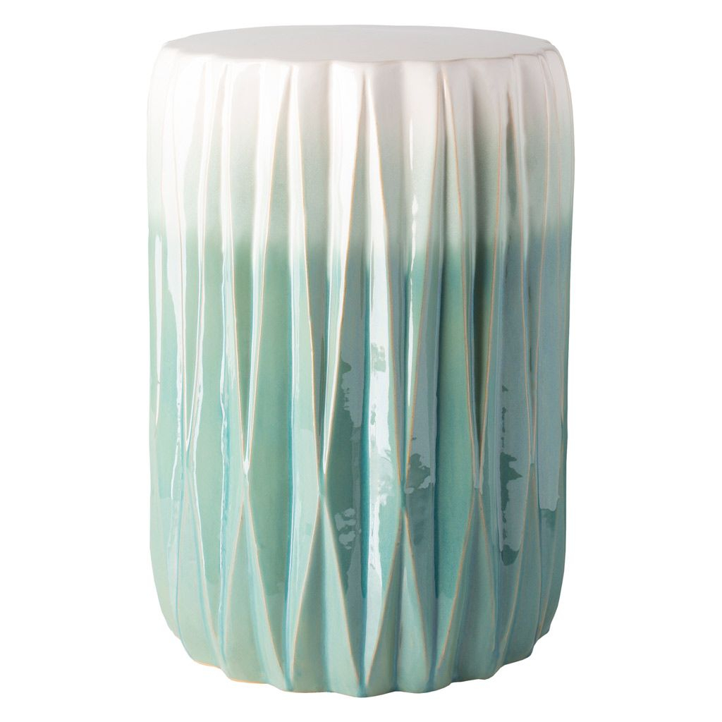 Surya Aynor Indoor/Outdoor Stool #Laylagrayce | Ceramic In Horsforth Garden Stools (View 6 of 25)