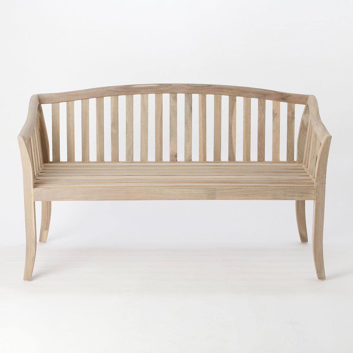 Terrain Preserved Teak Garden Bench #Shopterrain | Wooden For Hampstead Teak Garden Benches (View 24 of 25)
