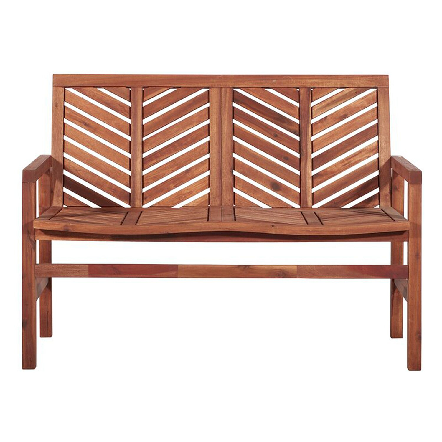 The 10 Best Deals From Wayfair'S Outdoor Furniture Sale Intended For Skoog Chevron Wooden Garden Benches (View 5 of 25)