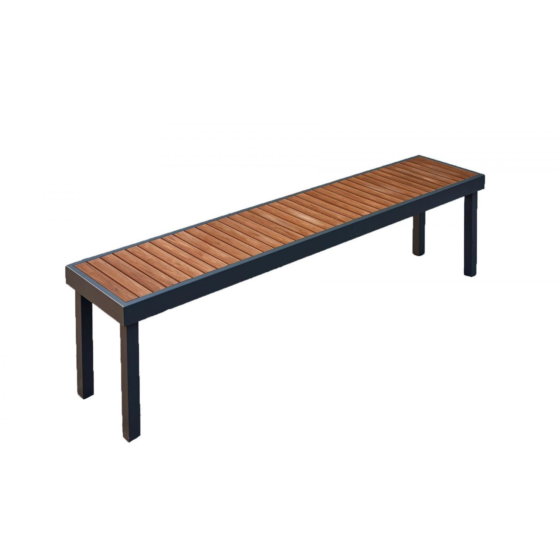 The Outdoor Greatroom Company Kenwood Aluminum Teak Picnic Bench Kw Lb For Wallie Teak Garden Benches (View 17 of 25)