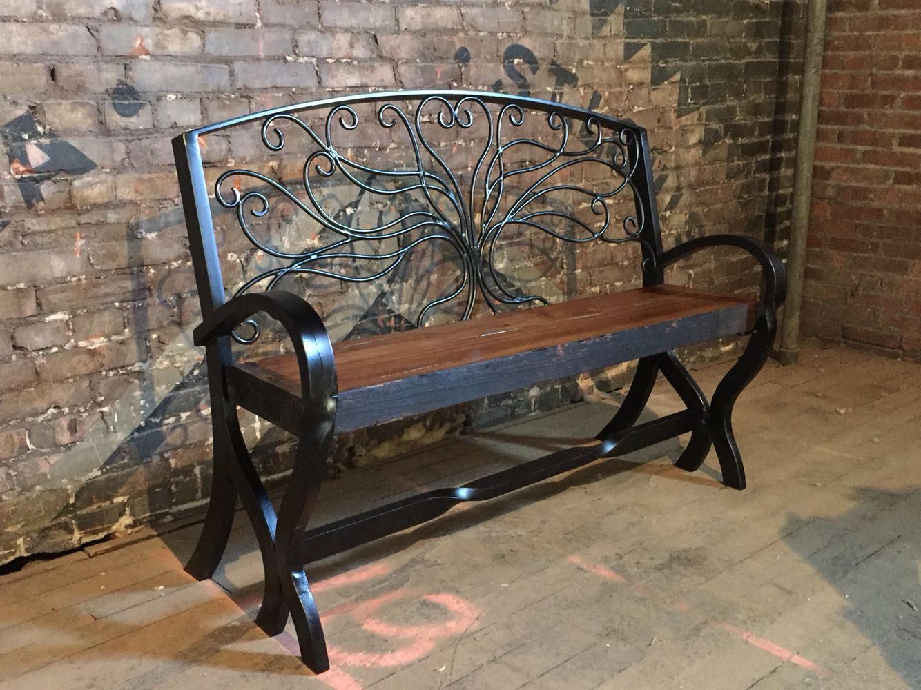Tree Of Life Bench From Lost Path Iron (View 21 of 25)