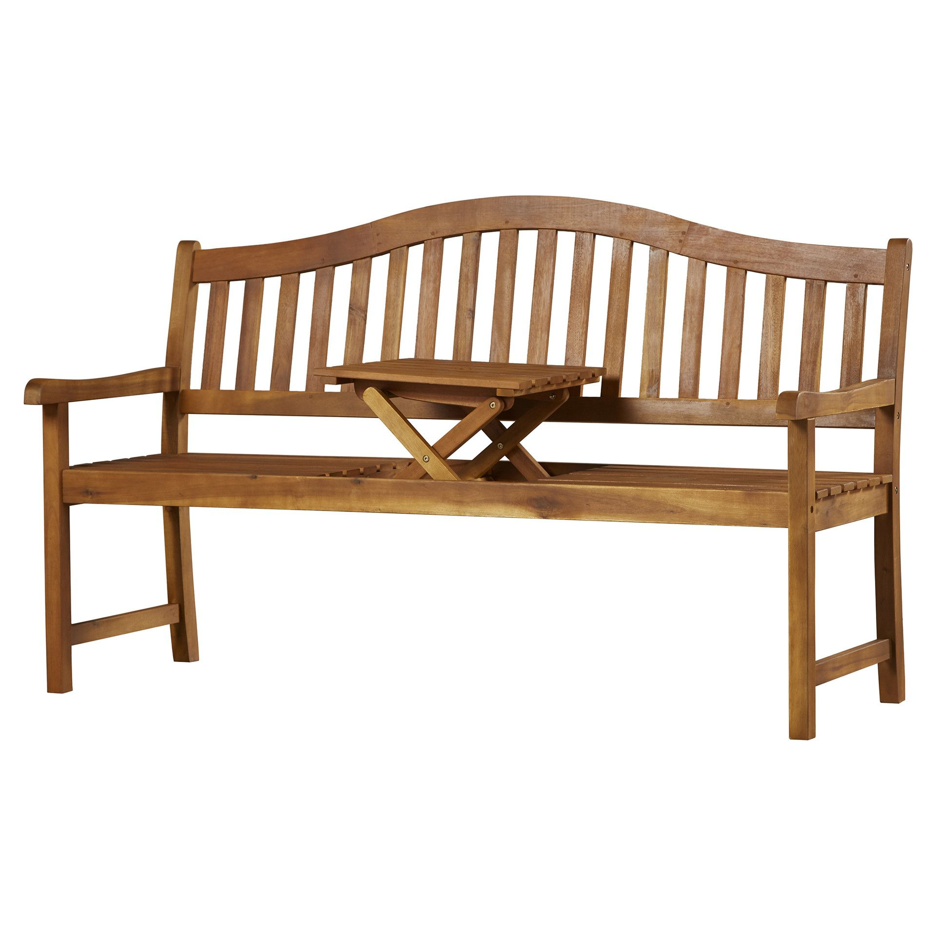 Volusia Wooden Garden Bench In 2020 | Wooden Garden Benches With Wallie Teak Garden Benches (View 22 of 25)