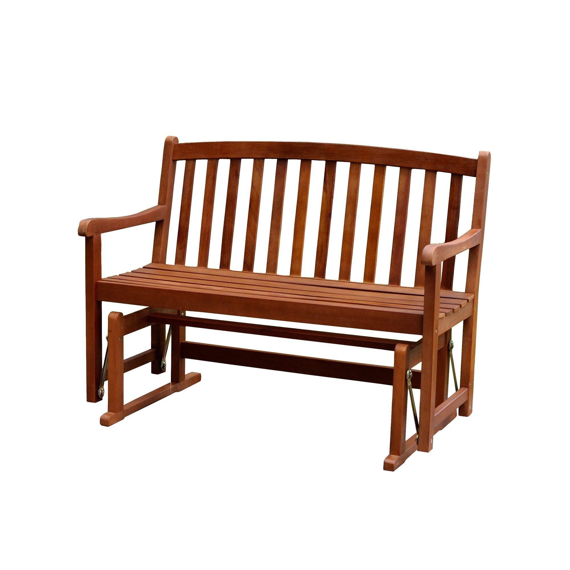 Wayfair Outdoor Wooden Benches Intended For Pettit Steel Garden Benches (View 20 of 25)