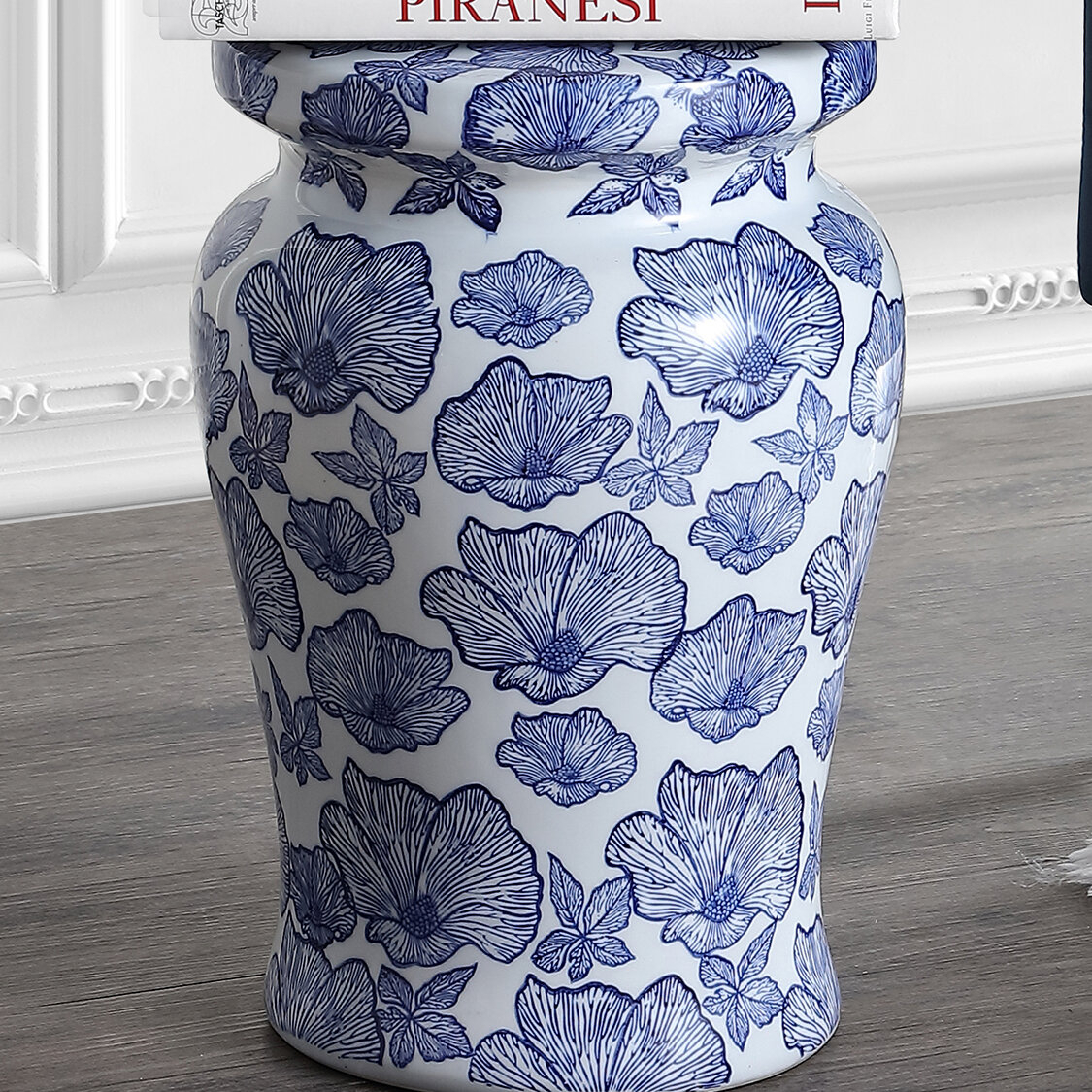 Featured Image of Wilde Poppies Ceramic Garden Stools