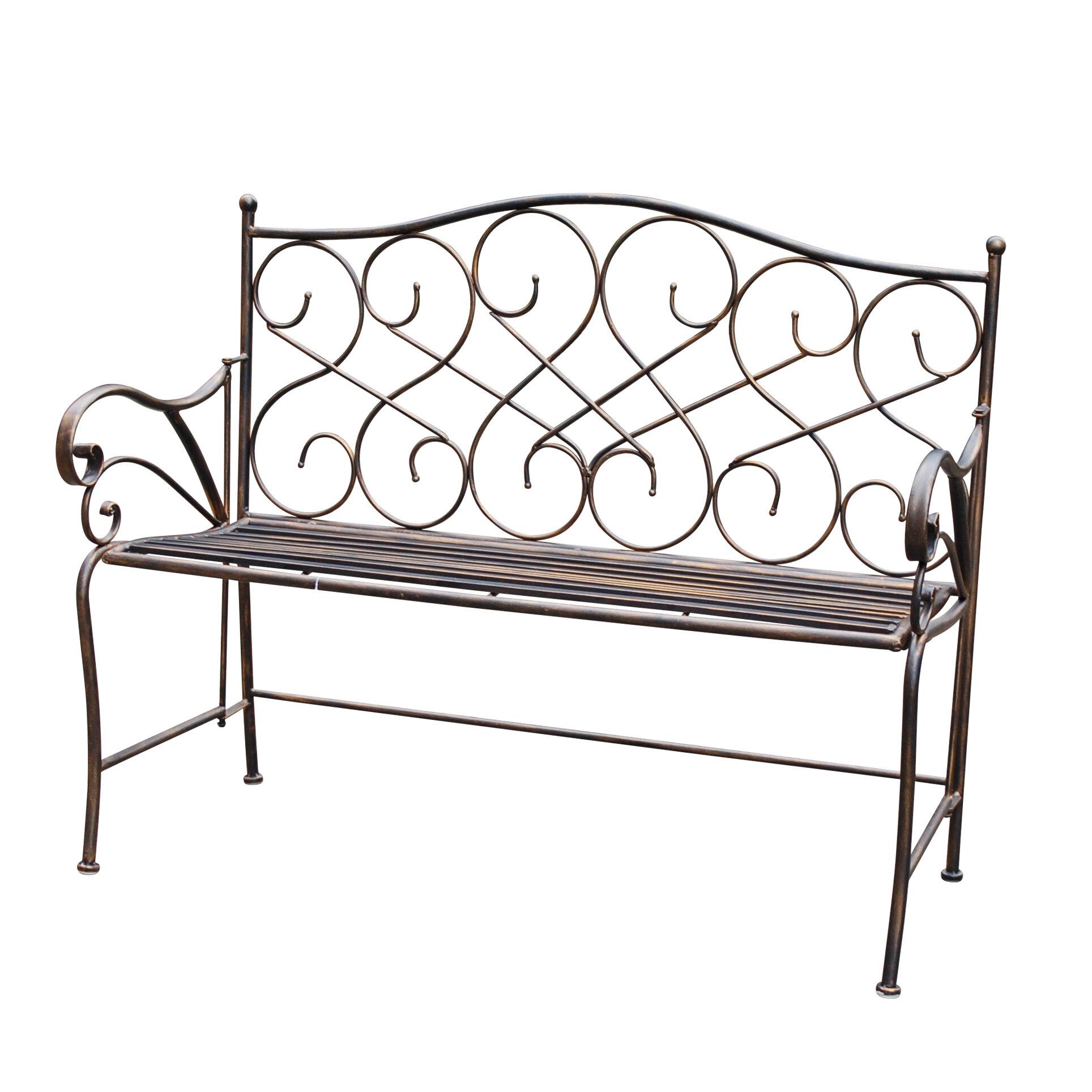 Wilks Metal Garden Bench With Regard To Norrie Metal Garden Benches (View 9 of 25)