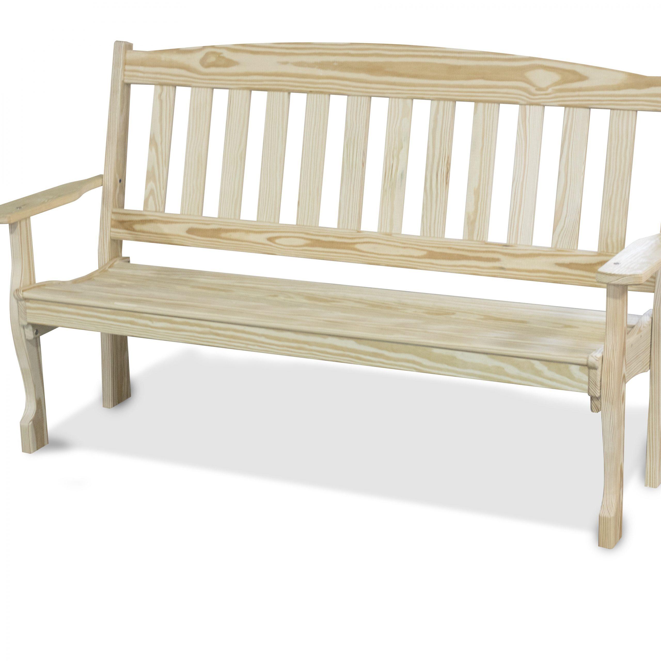 Wooden Garden Bench For Harpersfield Wooden Garden Benches (View 9 of 25)