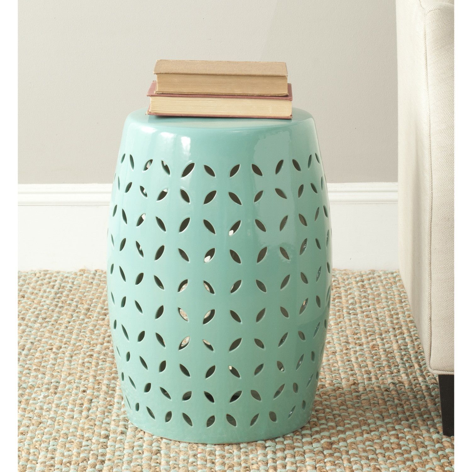 Wrought Studio Feliciana Ceramic Garden Stool | Wayfair Regarding Feliciana Ceramic Garden Stools (View 3 of 25)