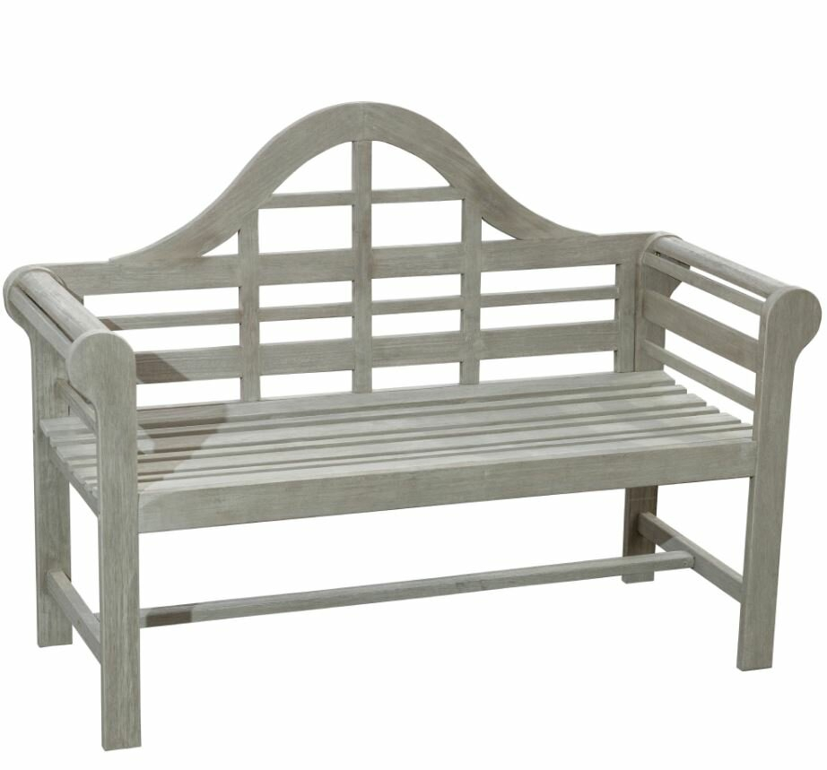 Zephyrine Patio Dining Wooden Picnic Bench Within Lucille Timberland Wooden Garden Benches (View 15 of 25)