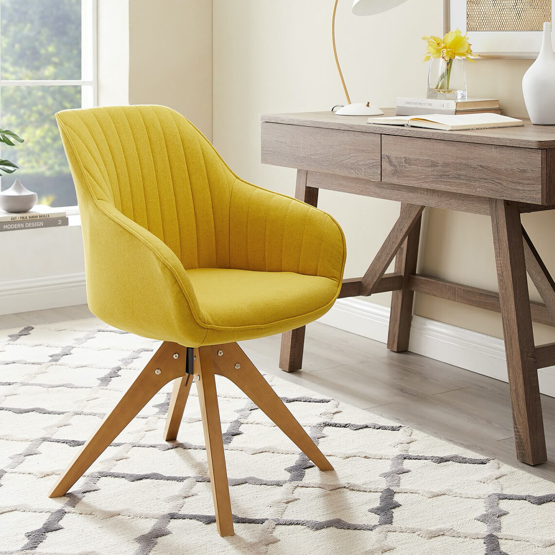 20 Best Minimalist Home Office Chairs In 2020 | Wornsimple Pertaining To Brister Swivel Side Chairs (View 9 of 15)