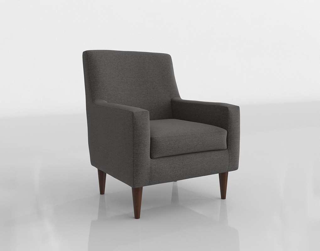 3D Wayfair Donham Armchair // Glancing Eye Intended For Donham Armchairs (View 8 of 15)
